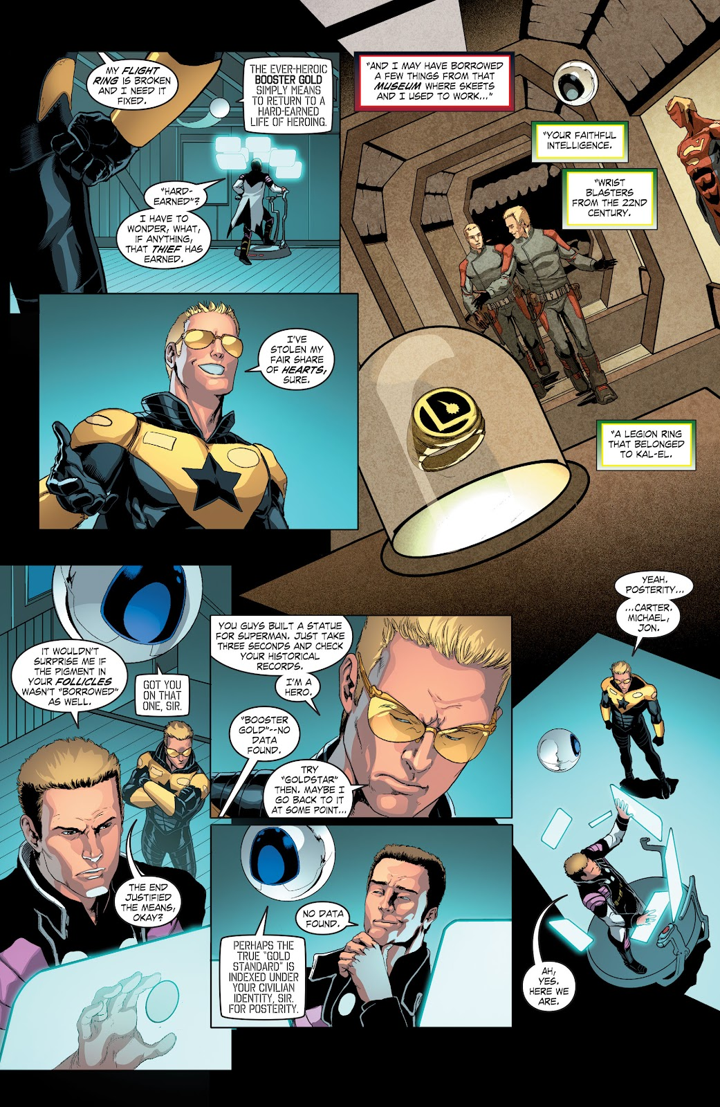 Read online Smallville Season 11 [II] comic -  Issue # TPB 4 - 50