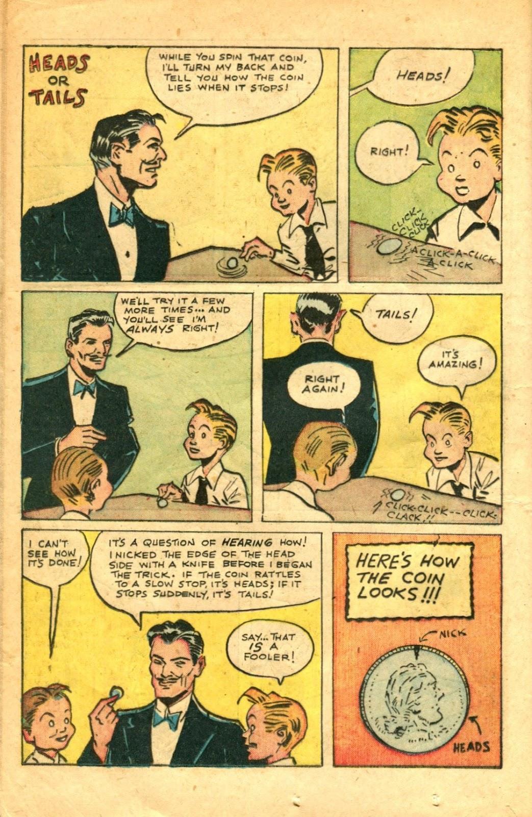 Read online Super-Magician Comics comic -  Issue #48 - 18