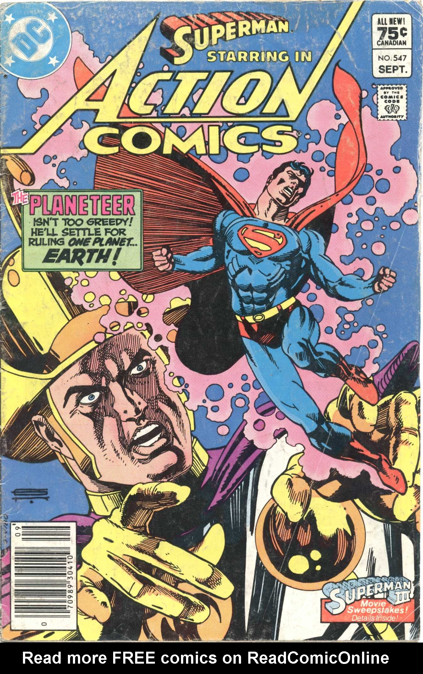 Read online Action Comics (1938) comic -  Issue #547 - 1