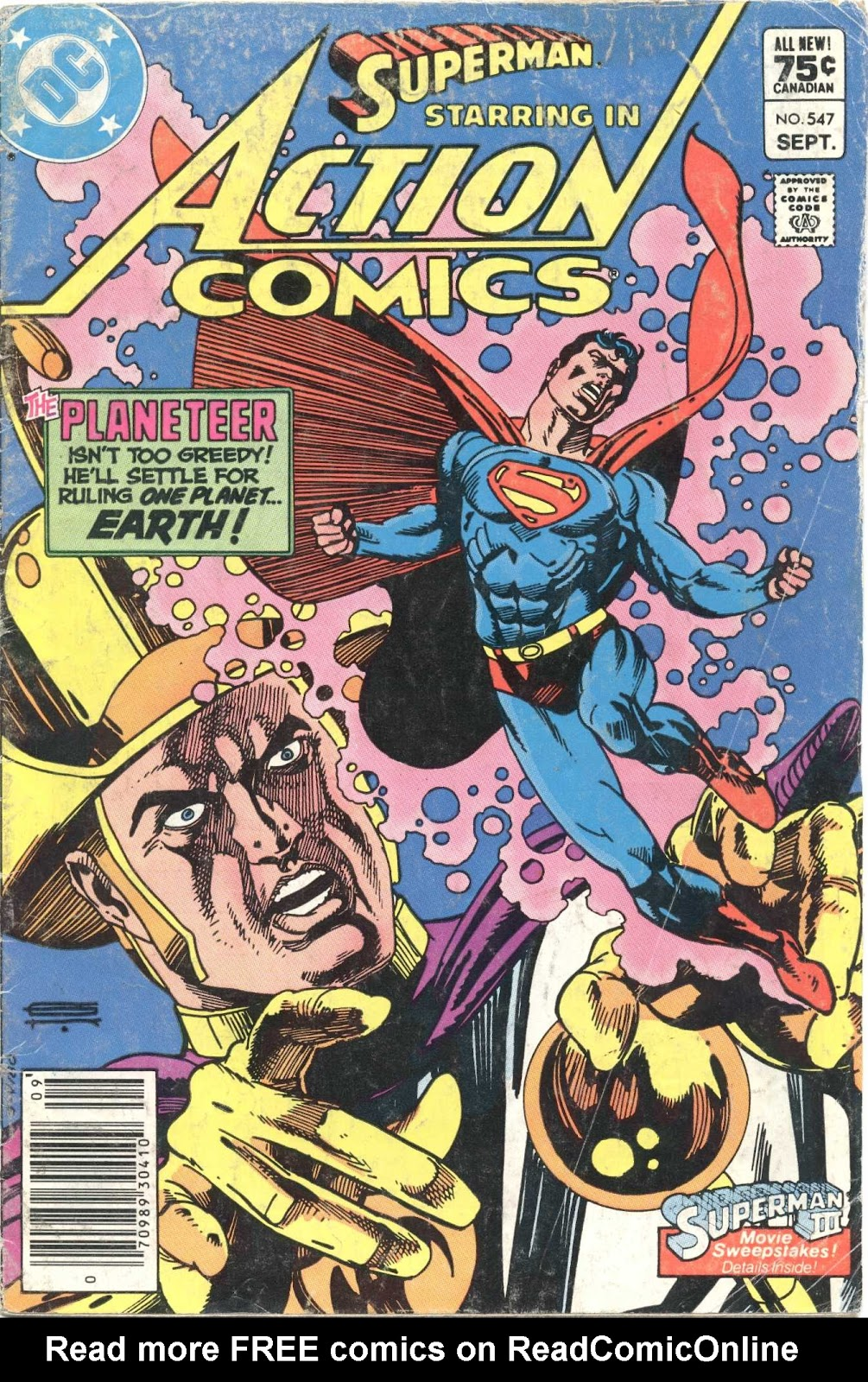 Action Comics (1938) 547 Page 1