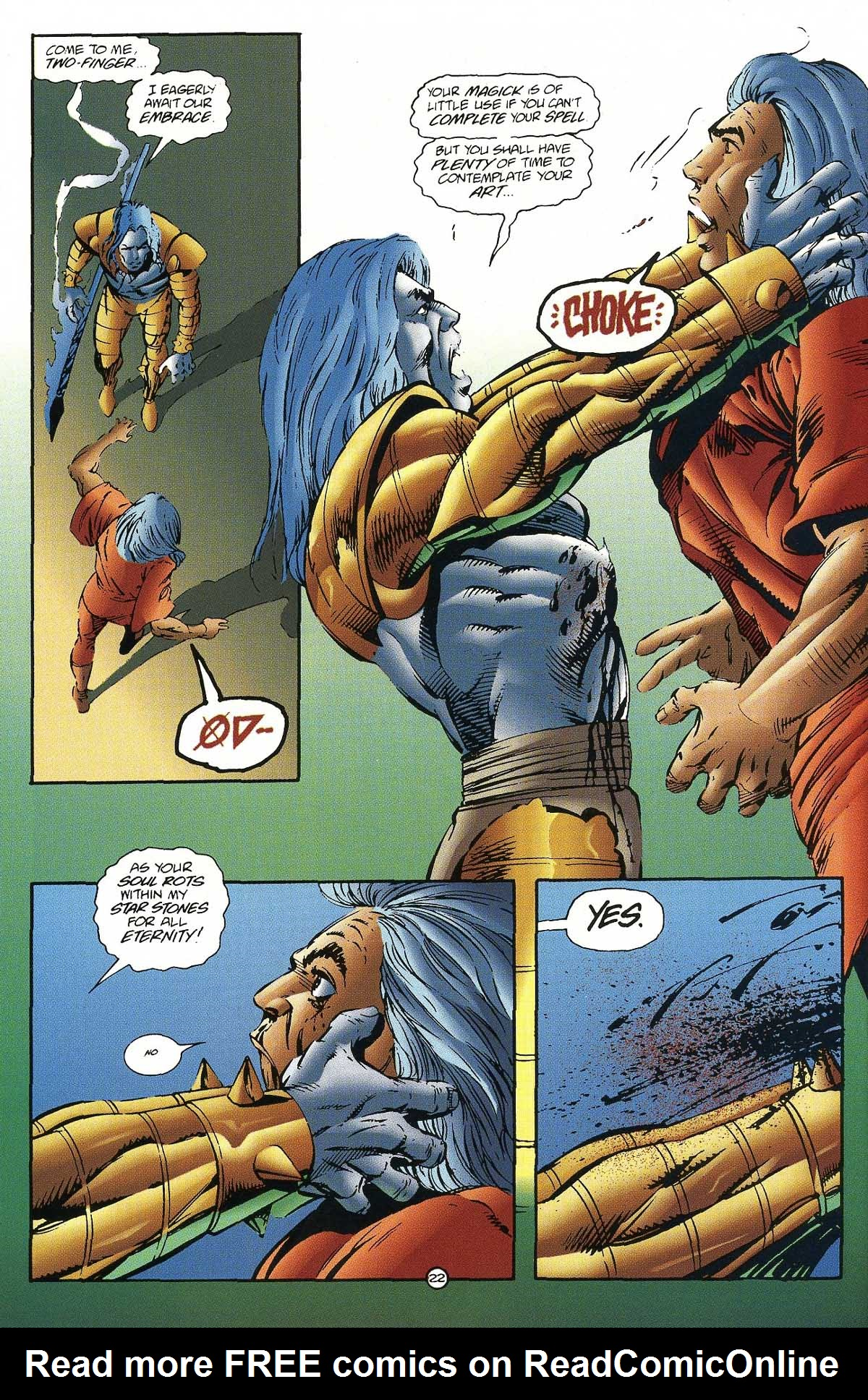 Read online Rune (1994) comic -  Issue #7 - 24