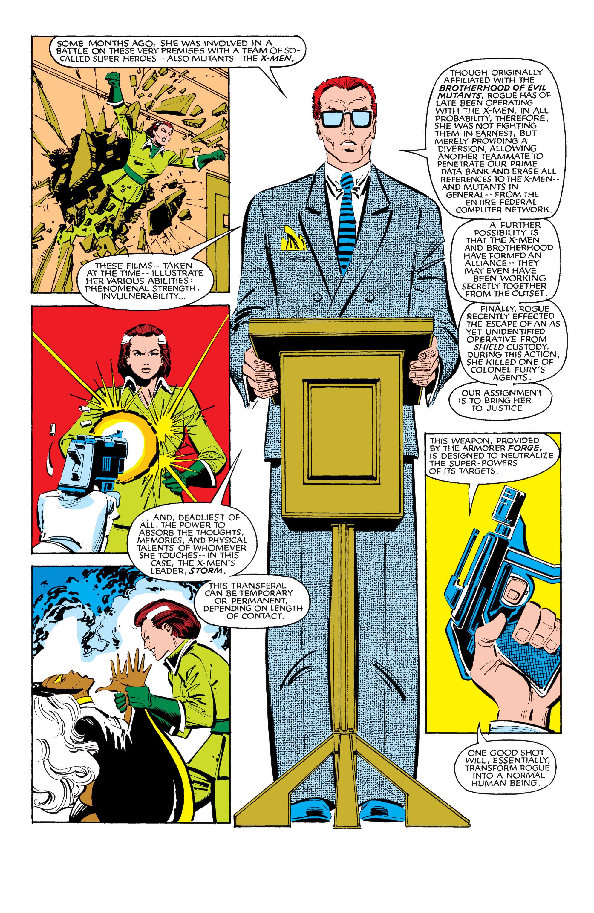 Read online Uncanny X-Men (1963) comic -  Issue #185 - 3