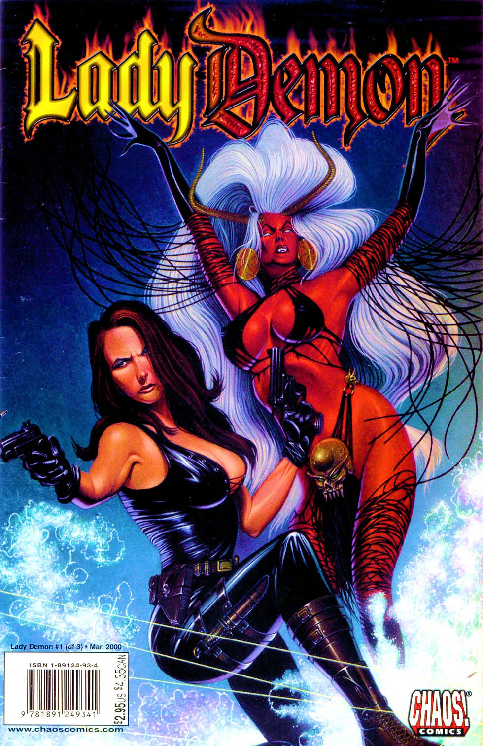 Lady Demon (2000) issue 1 - Page 1