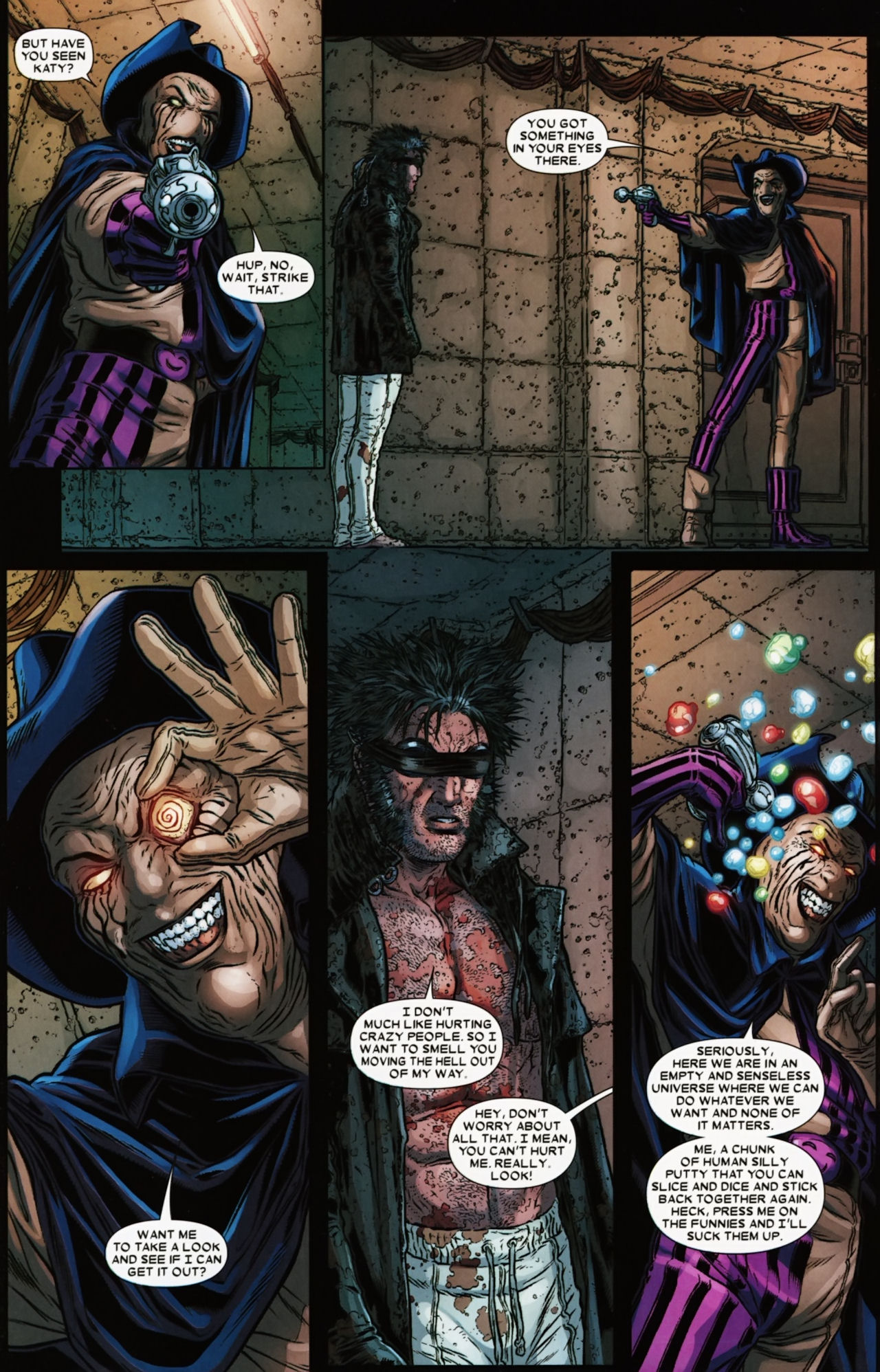 Read online Wolverine: The Best There Is comic -  Issue #6 - 11