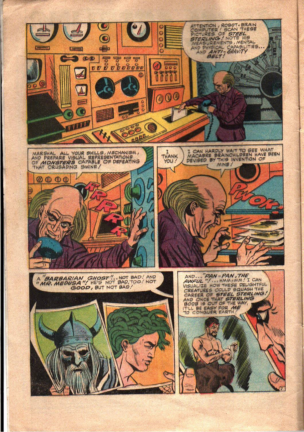 The Mighty Crusaders (1965) Issue #7 #7 - English 3