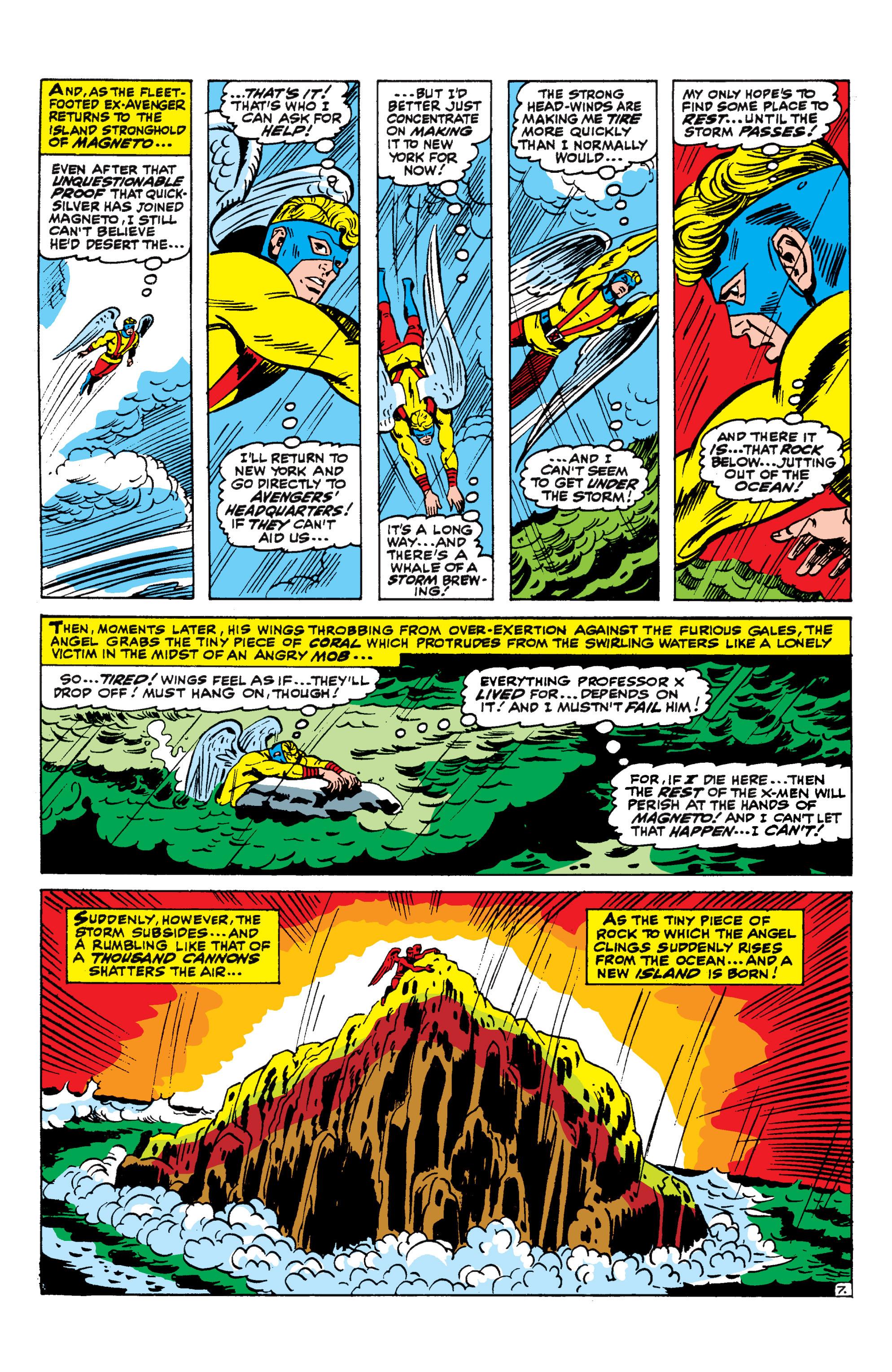 Read online Uncanny X-Men (1963) comic -  Issue #44 - 8