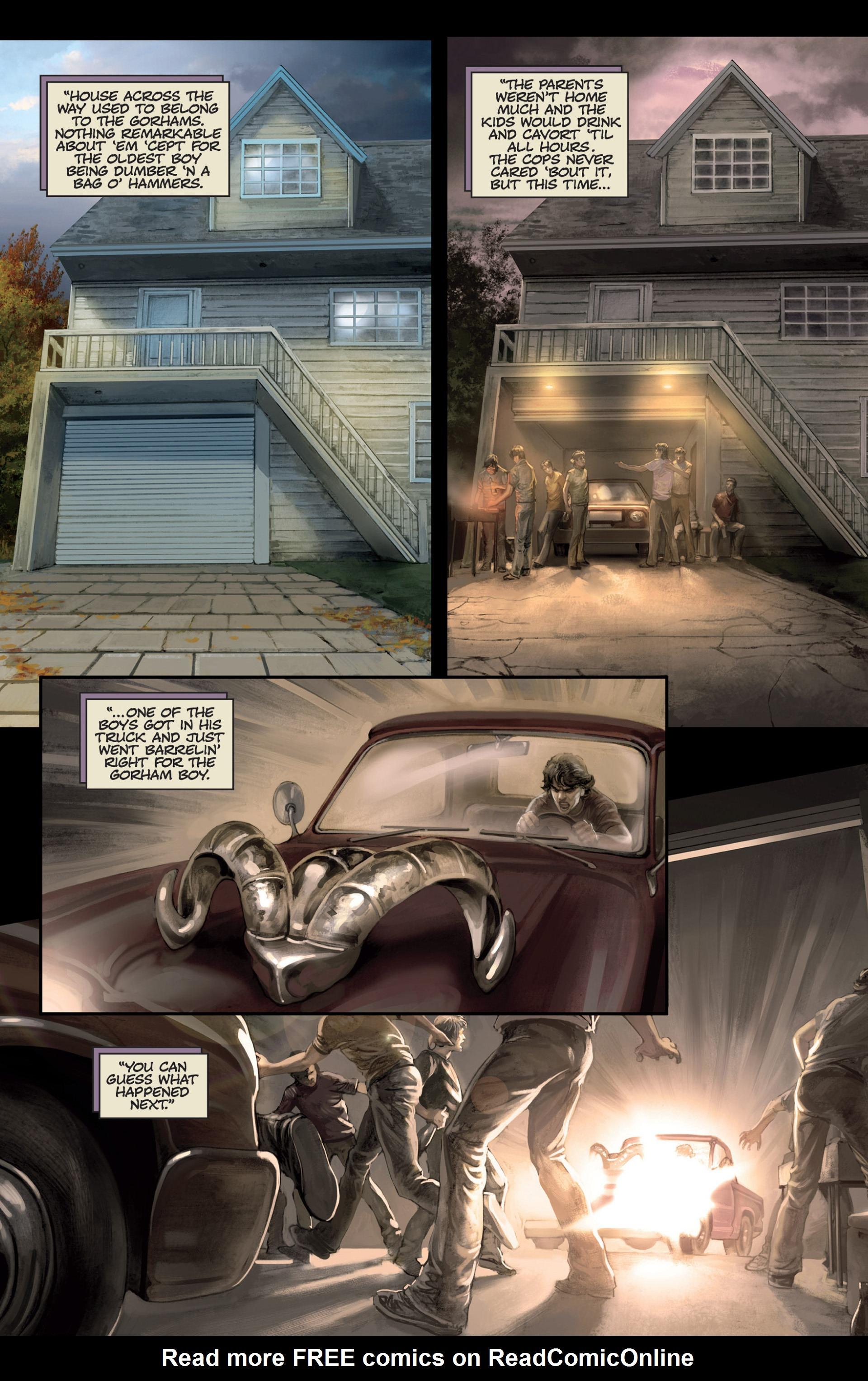 Read online Abattoir comic -  Issue #4 - 7