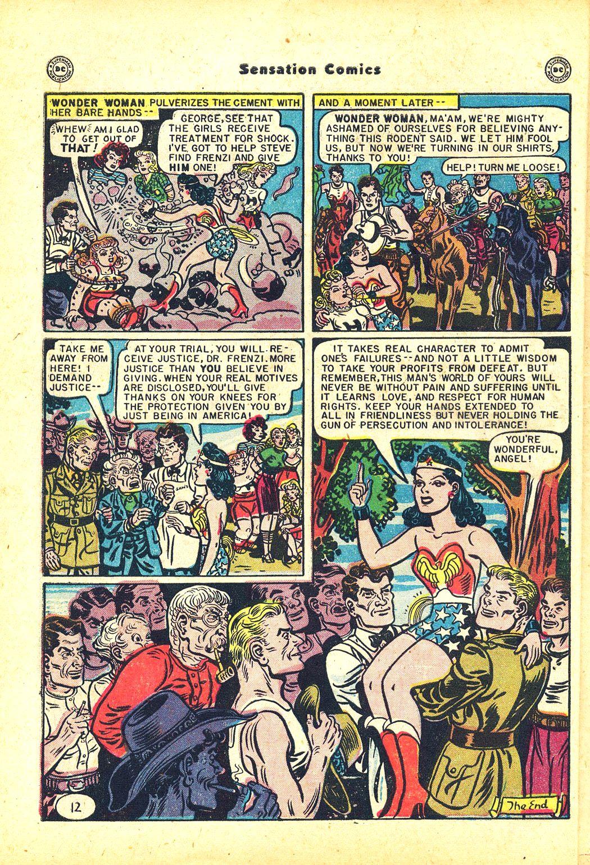 Read online Sensation (Mystery) Comics comic -  Issue #81 - 14