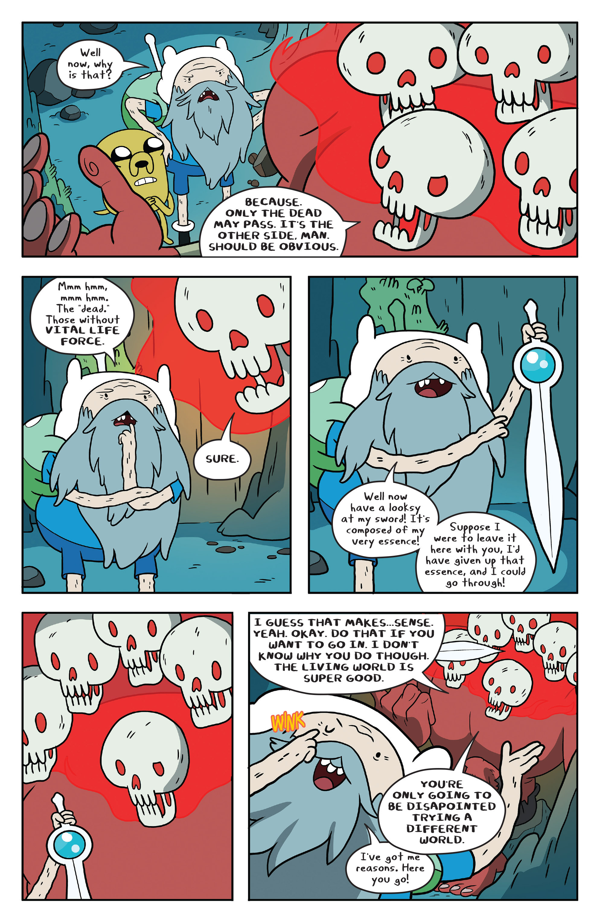 Read online Adventure Time comic -  Issue #51 - 20