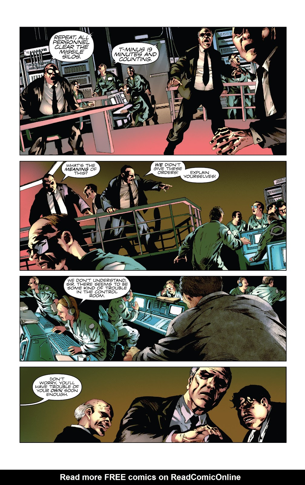 Read online Codename: Action comic -  Issue #5 - 12