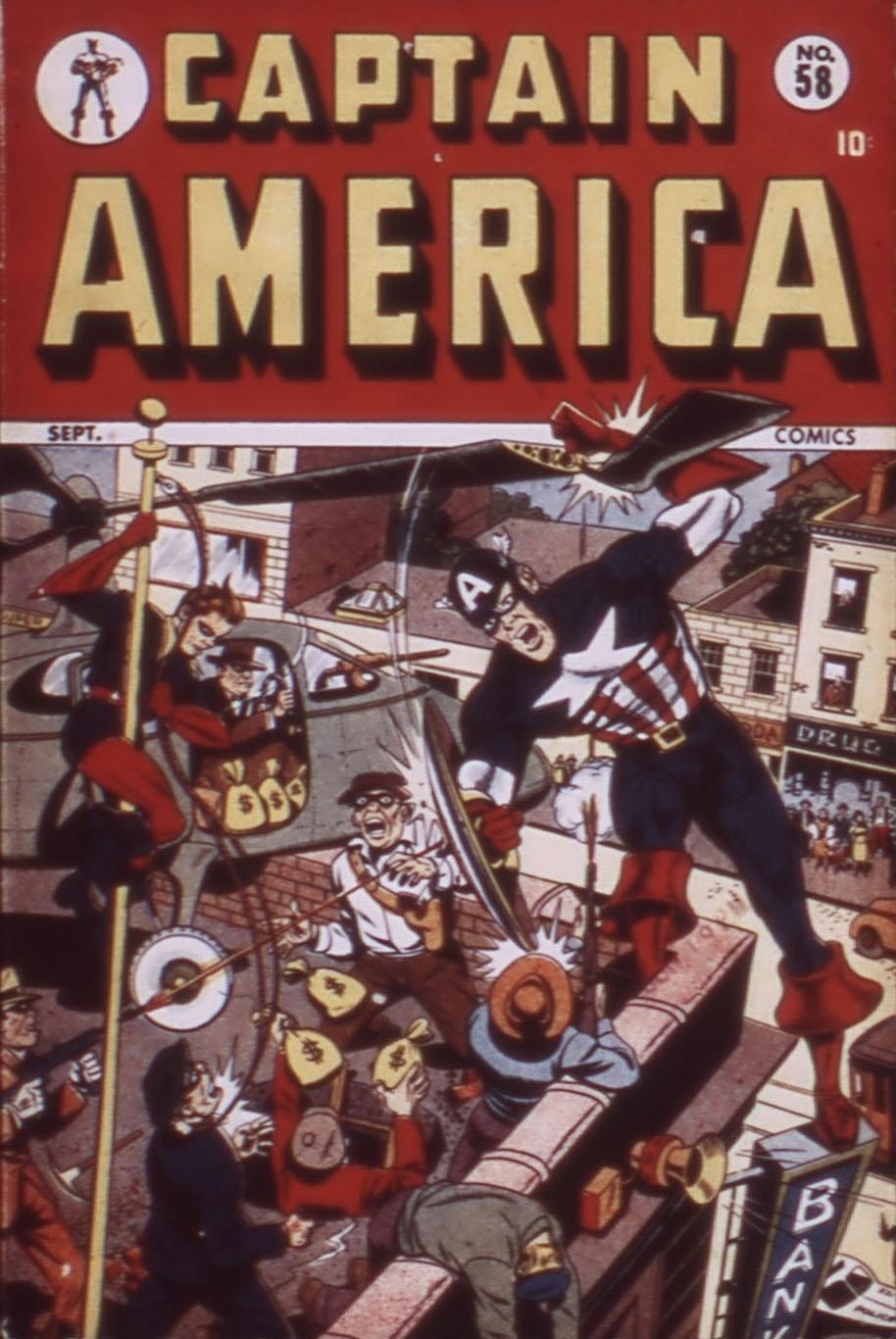 Captain America Comics 58 Page 1
