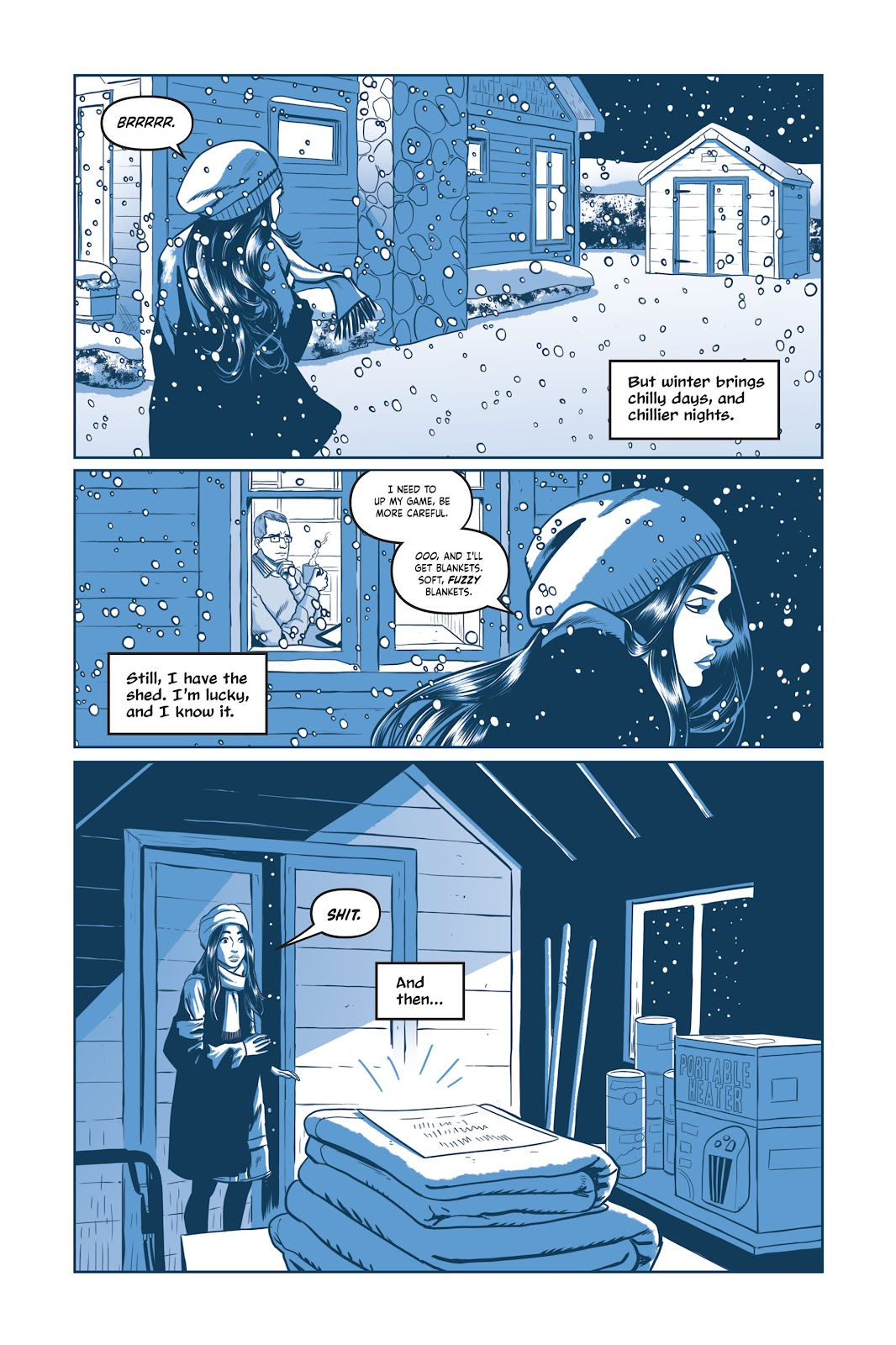 Read online Under the Moon: A Catwoman Tale comic -  Issue # TPB (Part 2) - 1