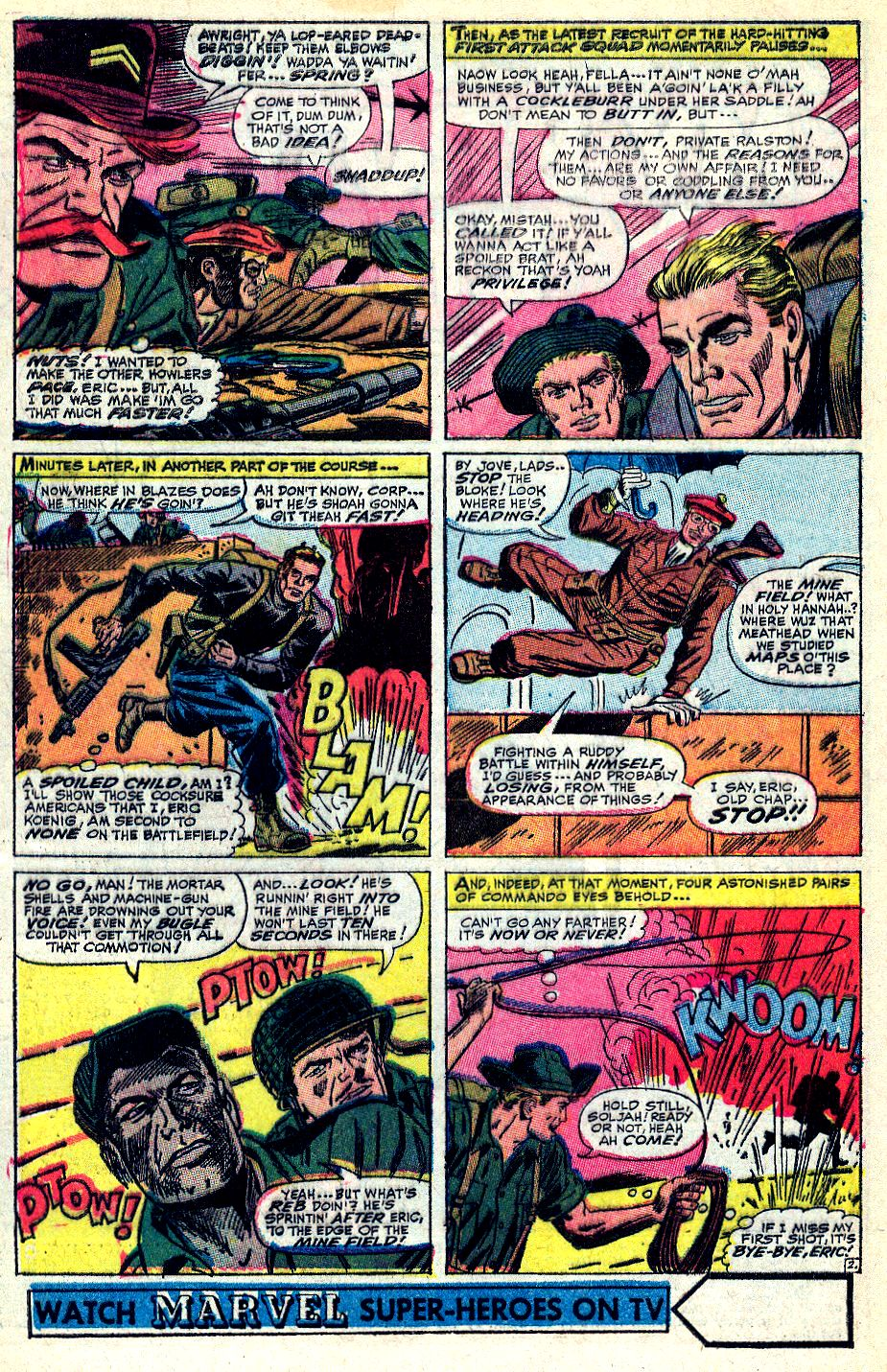 Read online Sgt. Fury comic -  Issue #36 - 4