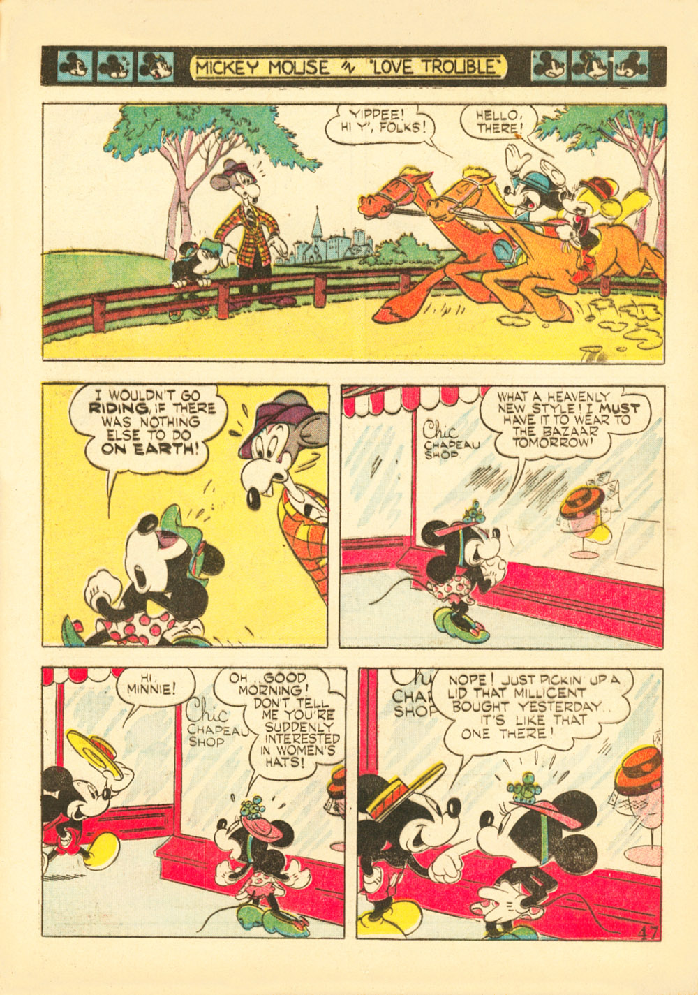 Walt Disney's Comics and Stories issue 38 - Page 49