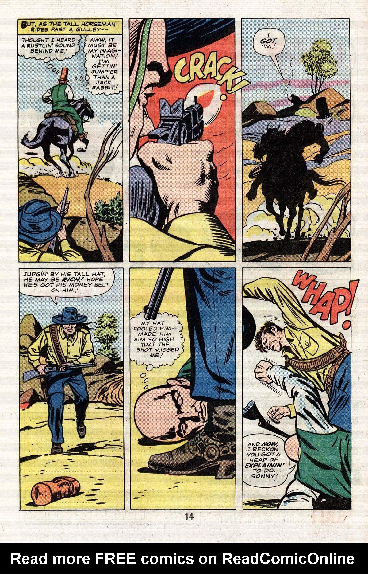 Read online Two-Gun Kid comic -  Issue #125 - 16