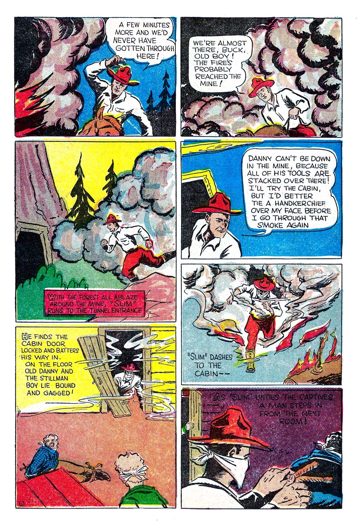 Read online Amazing Man Comics comic -  Issue #5 - 56