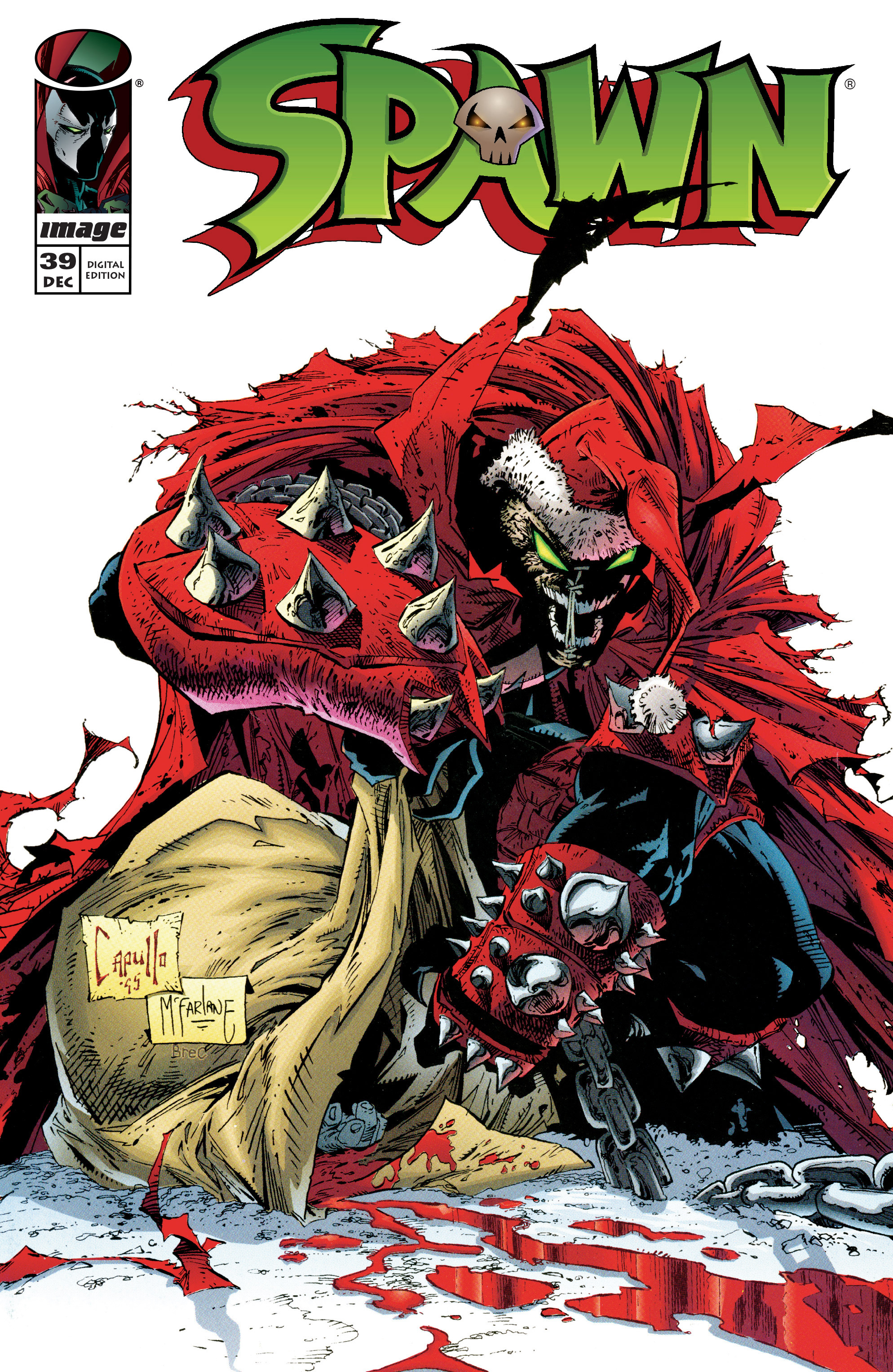 Spawn 39 Page 1