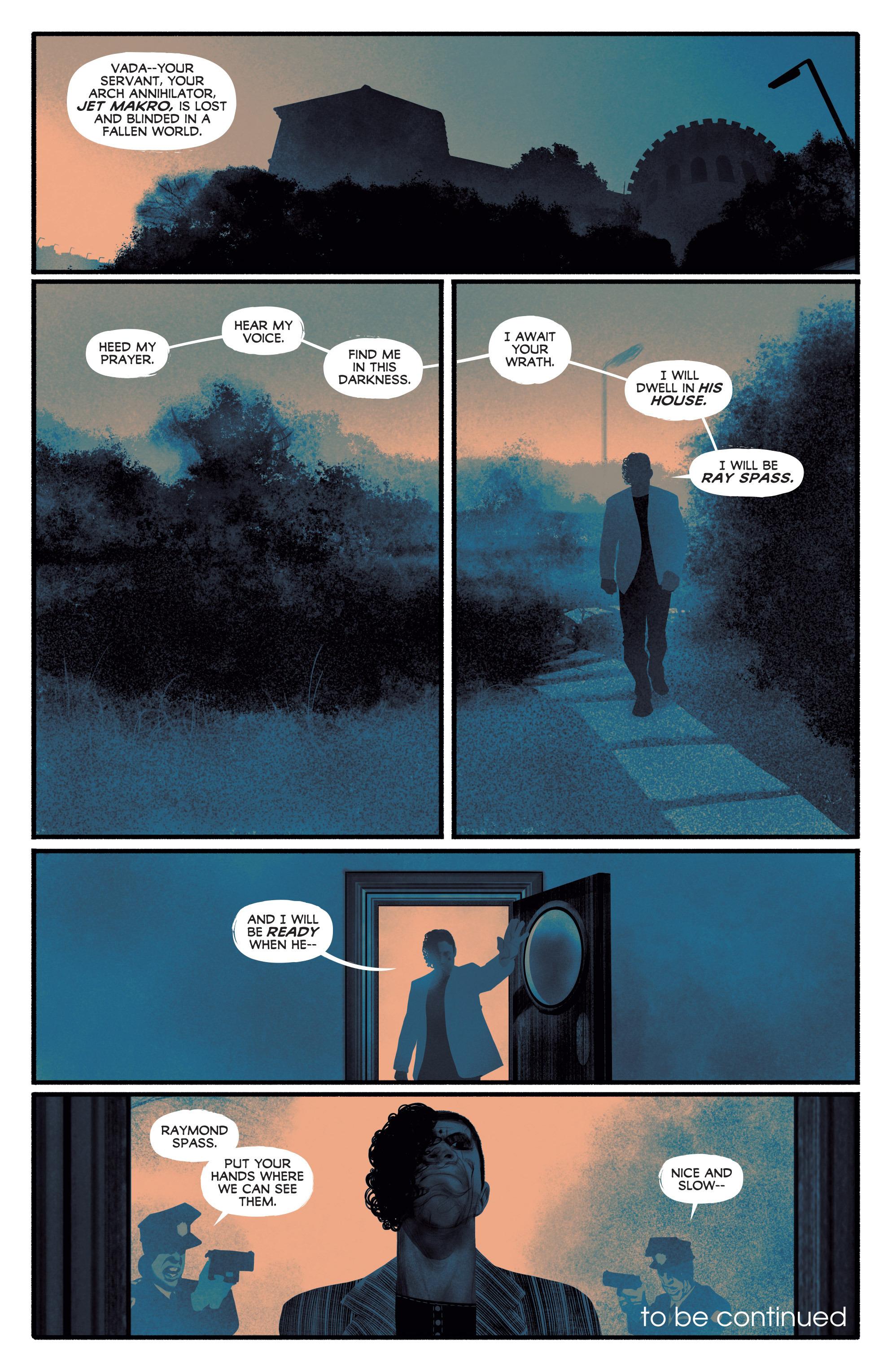 Read online Annihilator comic -  Issue #4 - 34