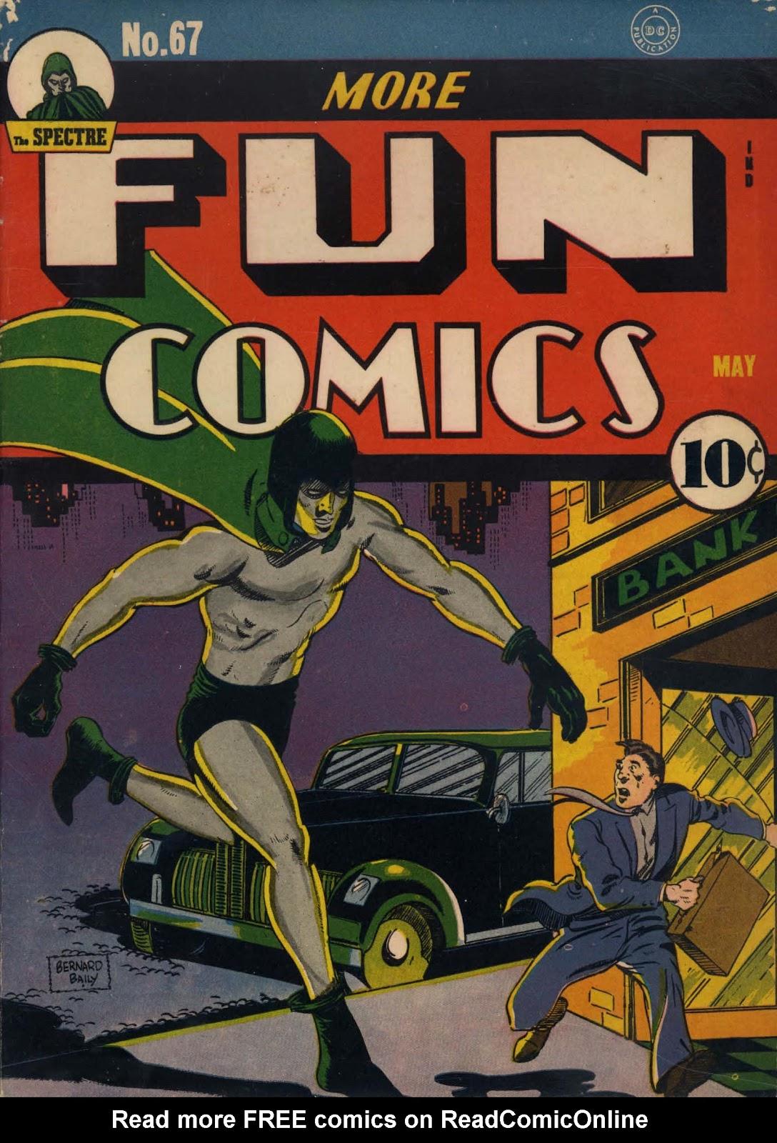 More Fun Comics 67 Page 1