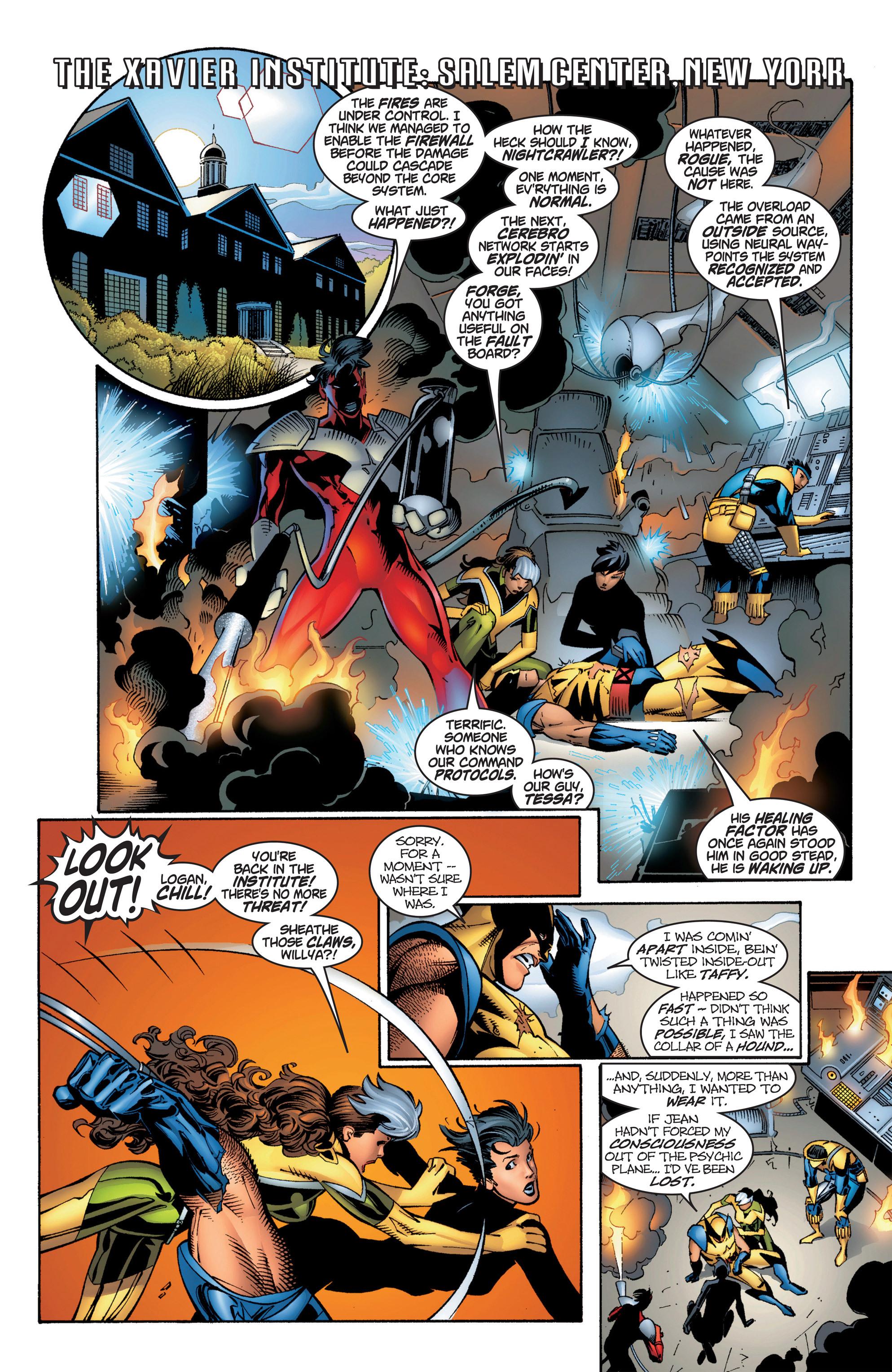 Read online Uncanny X-Men (1963) comic -  Issue #384 - 11