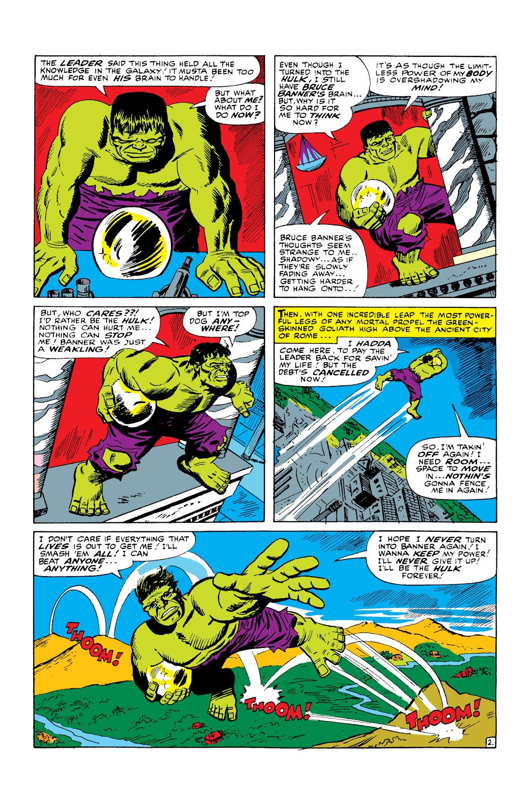 Read online Marvel Masterworks: The Incredible Hulk comic -  Issue # TPB 2 (Part 2) - 91