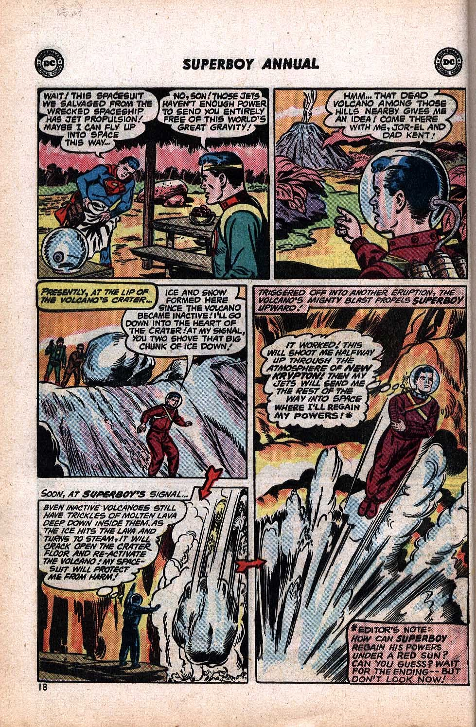 Superboy (1949) issue Annual 1 - Page 20