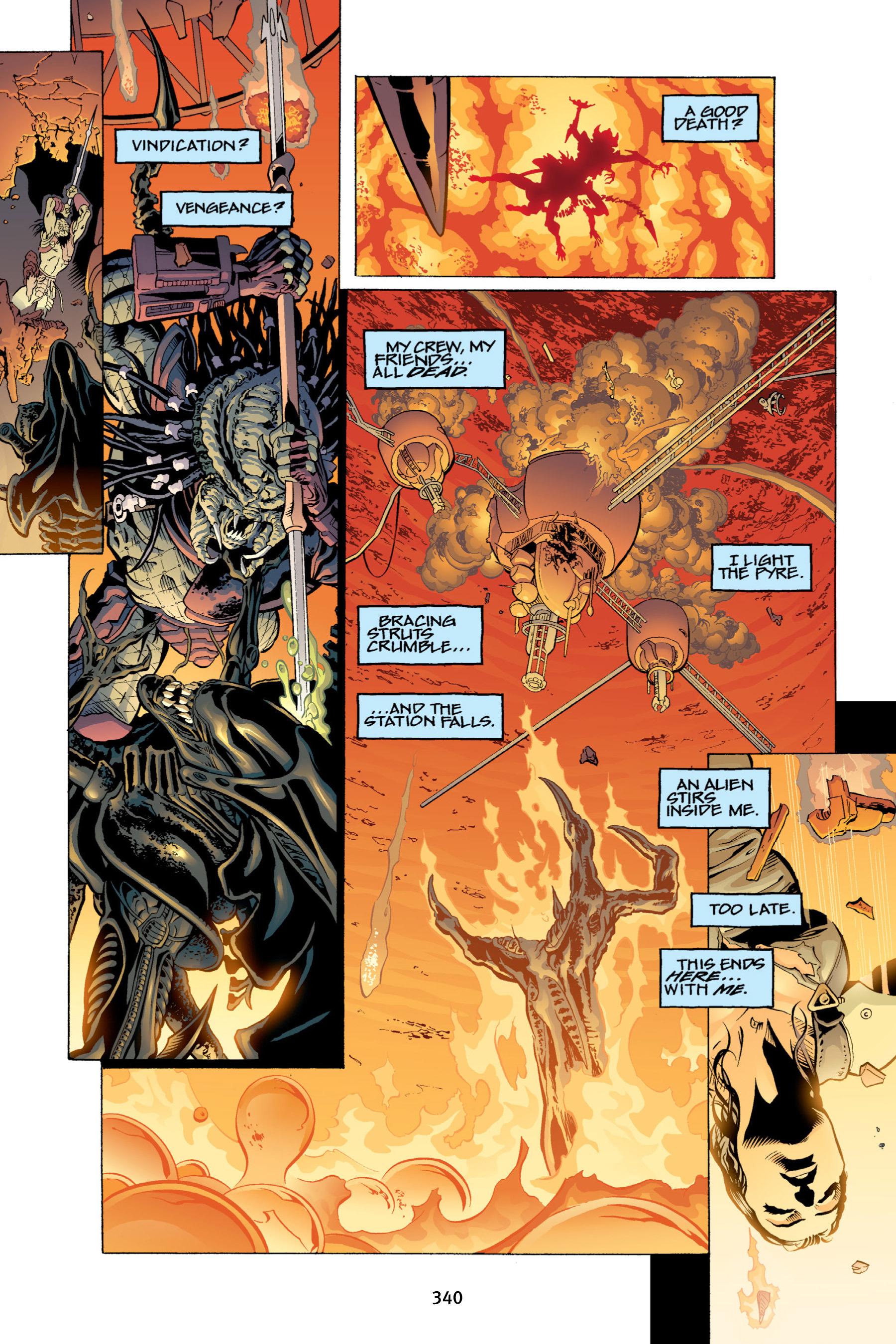 Read online Aliens vs. Predator Omnibus comic -  Issue # _TPB 2 Part 4 - 5