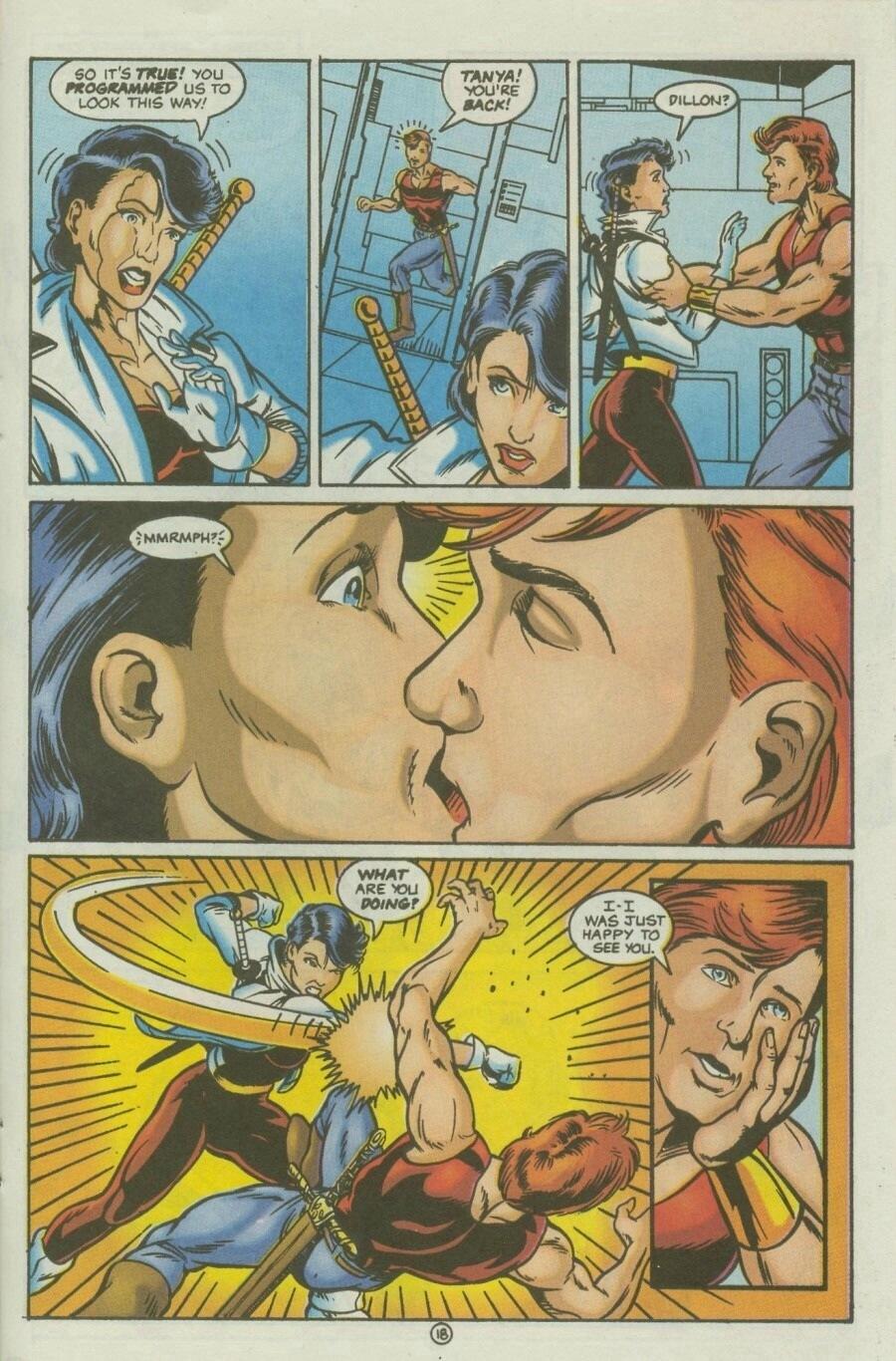 Read online Ex-Mutants comic -  Issue #10 - 22
