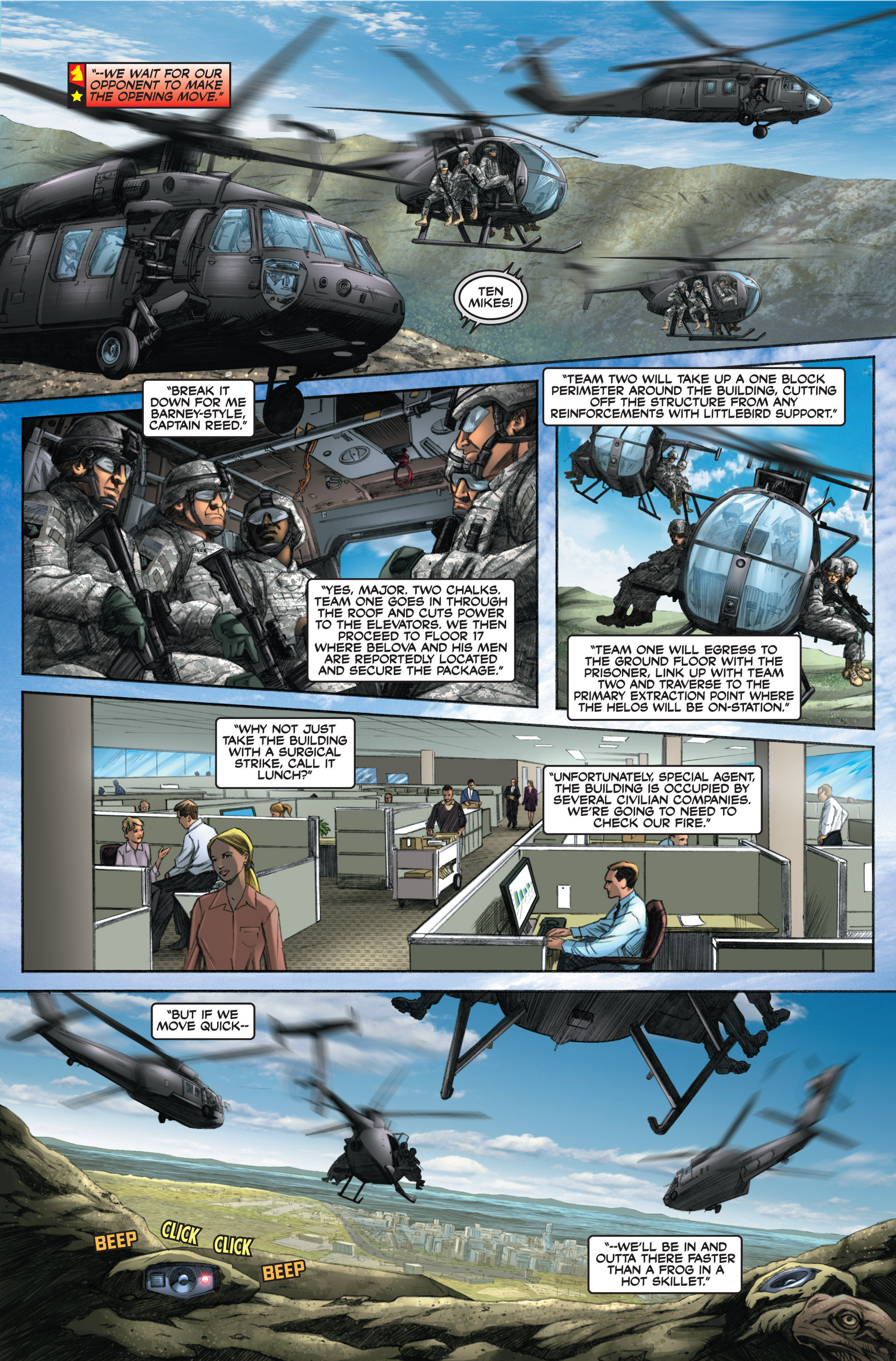 Read online America's Army comic -  Issue #6 - 10