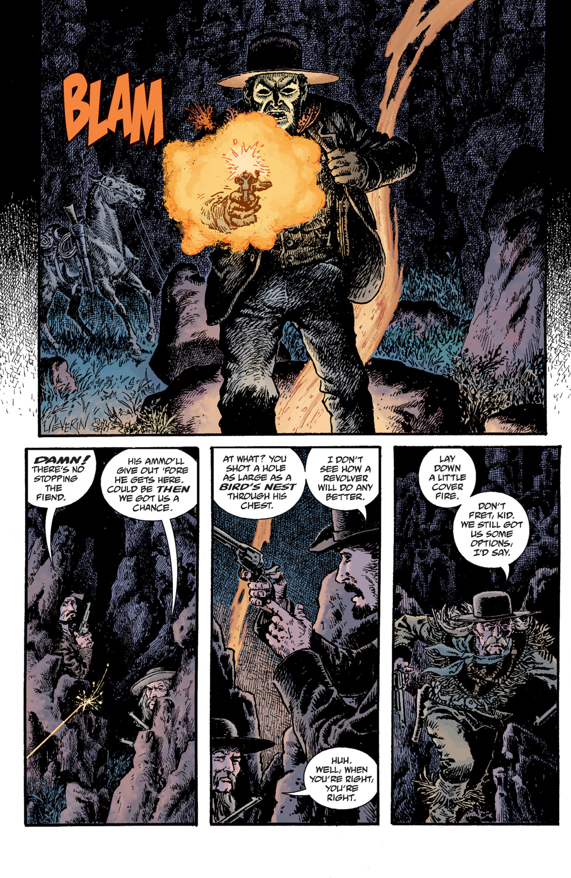 Read online Sir Edward Grey, Witchfinder: Lost and Gone Forever comic -  Issue # TPB - 55