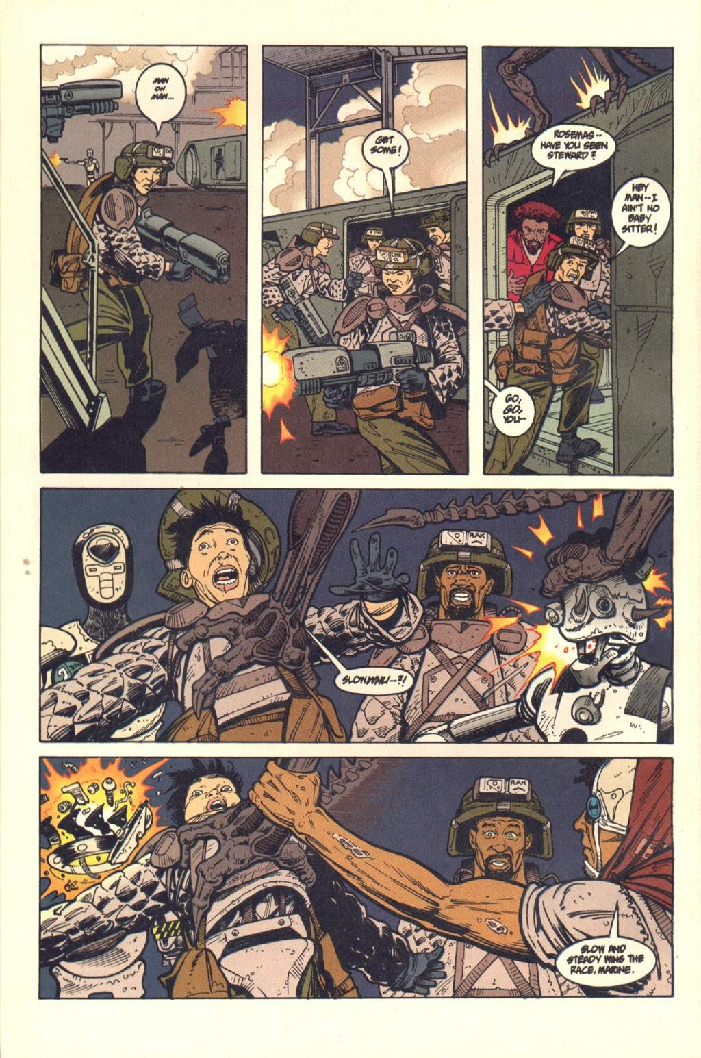Read online Aliens: Colonial Marines comic -  Issue #7 - 21