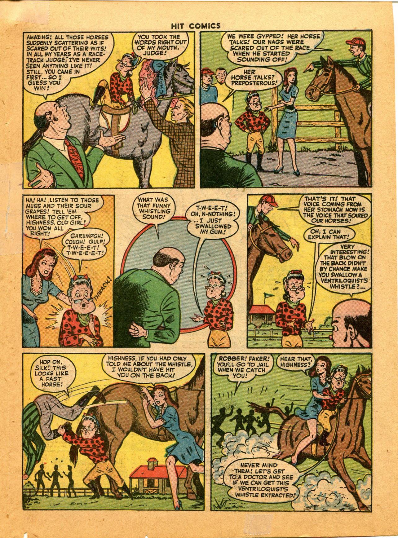 Read online Hit Comics comic -  Issue #35 - 29