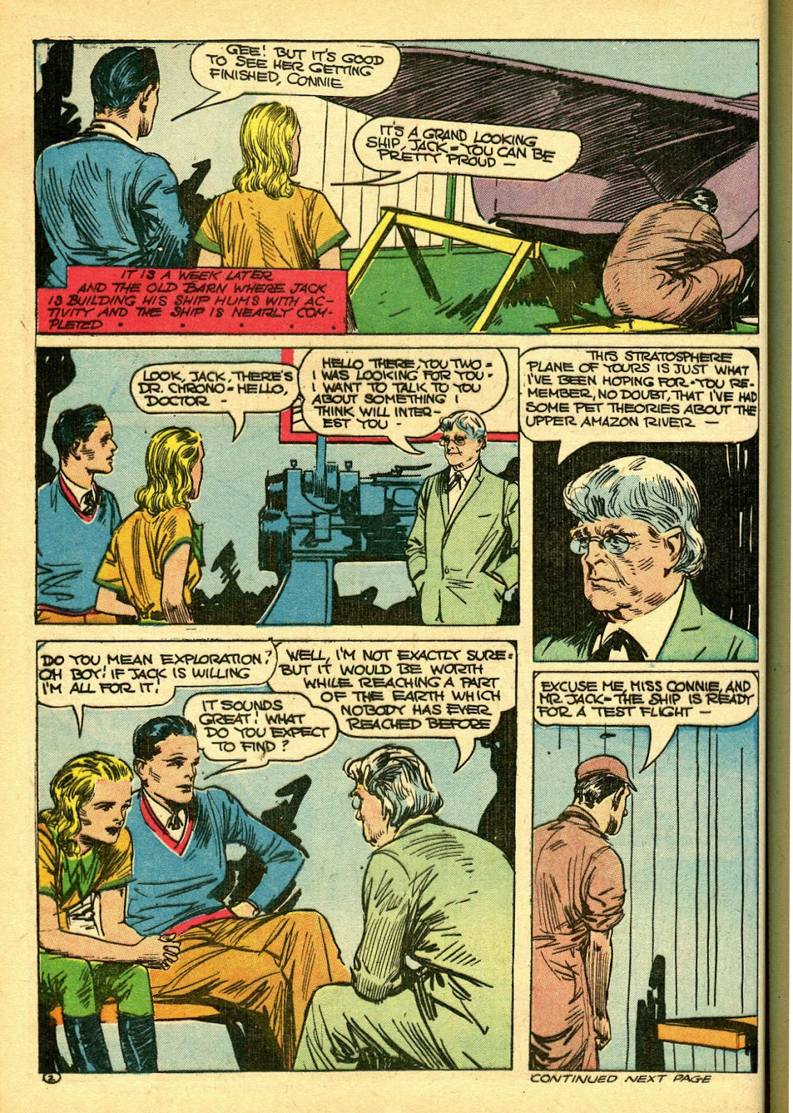 Read online Famous Funnies comic -  Issue #108 - 20