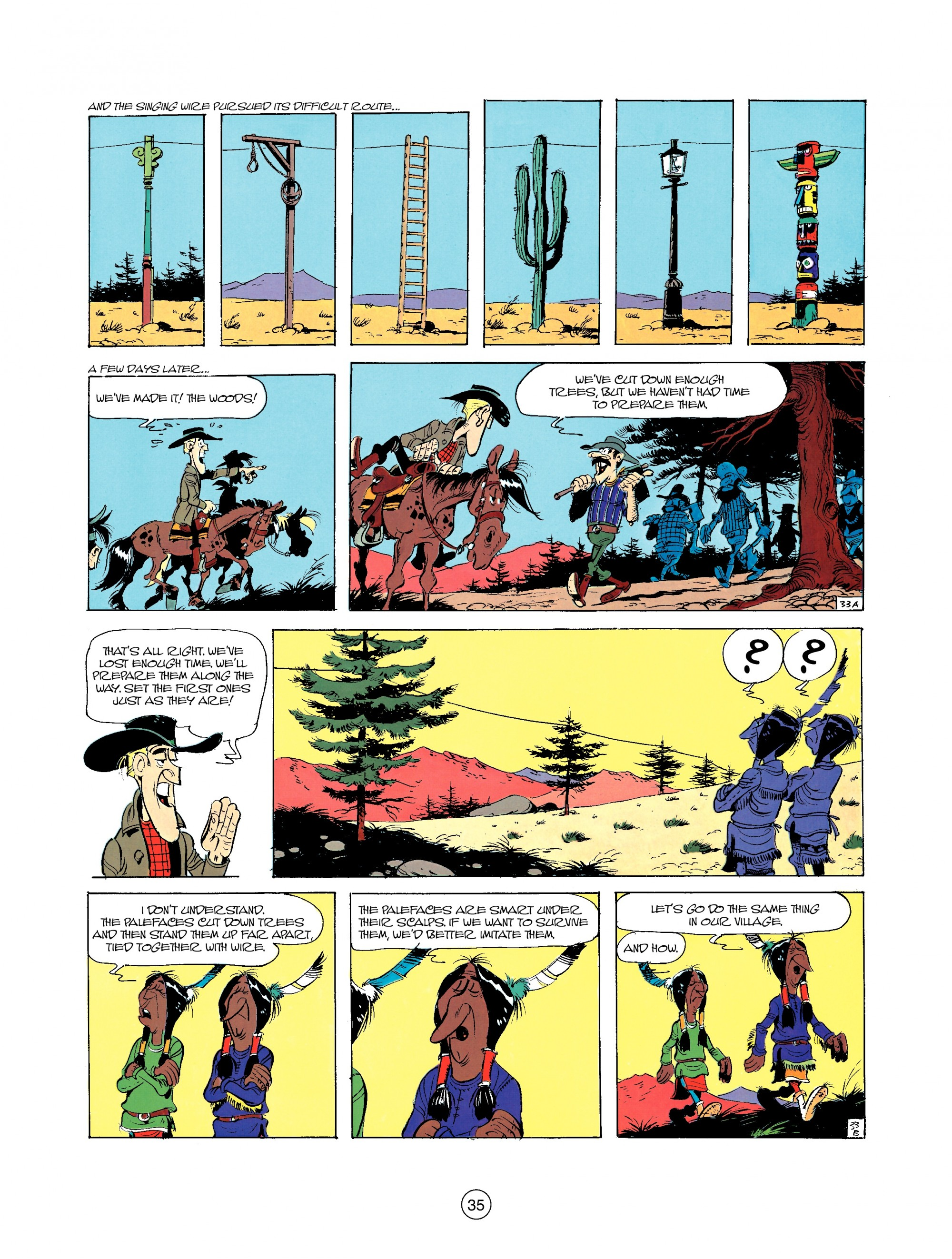 Read online A Lucky Luke Adventure comic -  Issue #35 - 35