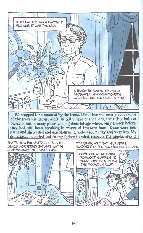 Read online Fun Home: A Family Tragicomic comic -  Issue # TPB - 99