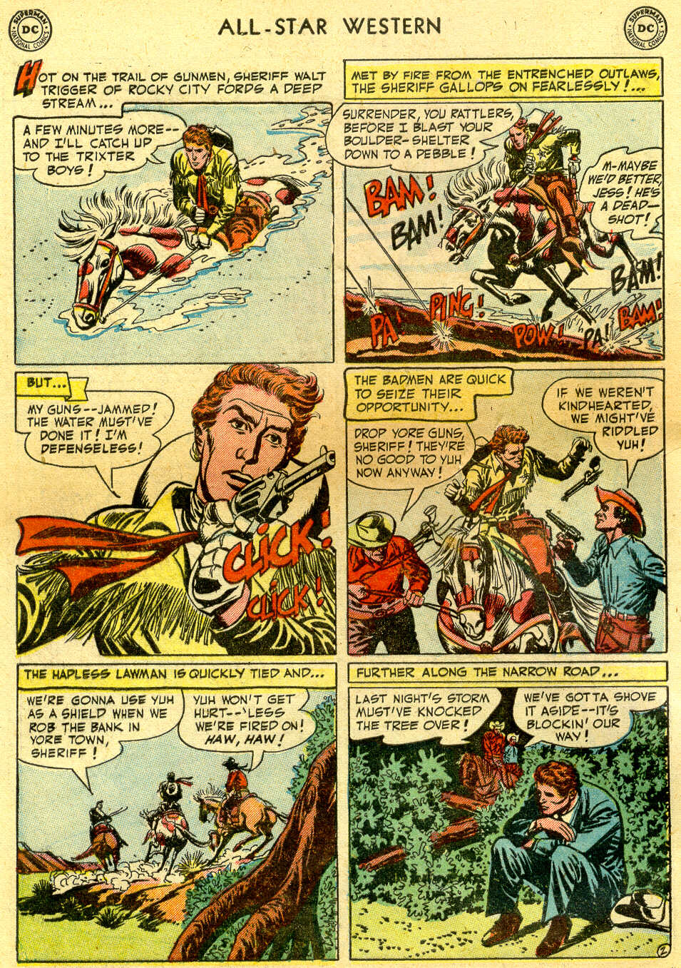 Read online All-Star Western (1951) comic -  Issue #64 - 4