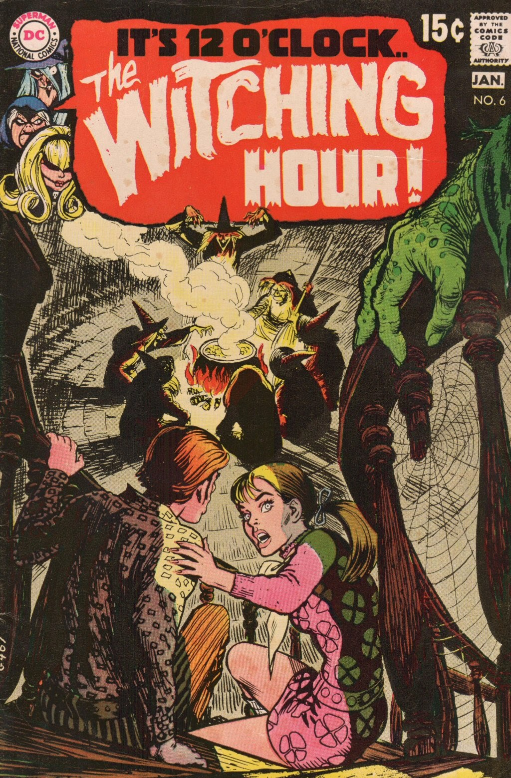 The Witching Hour (1969) issue 6 - Page 1