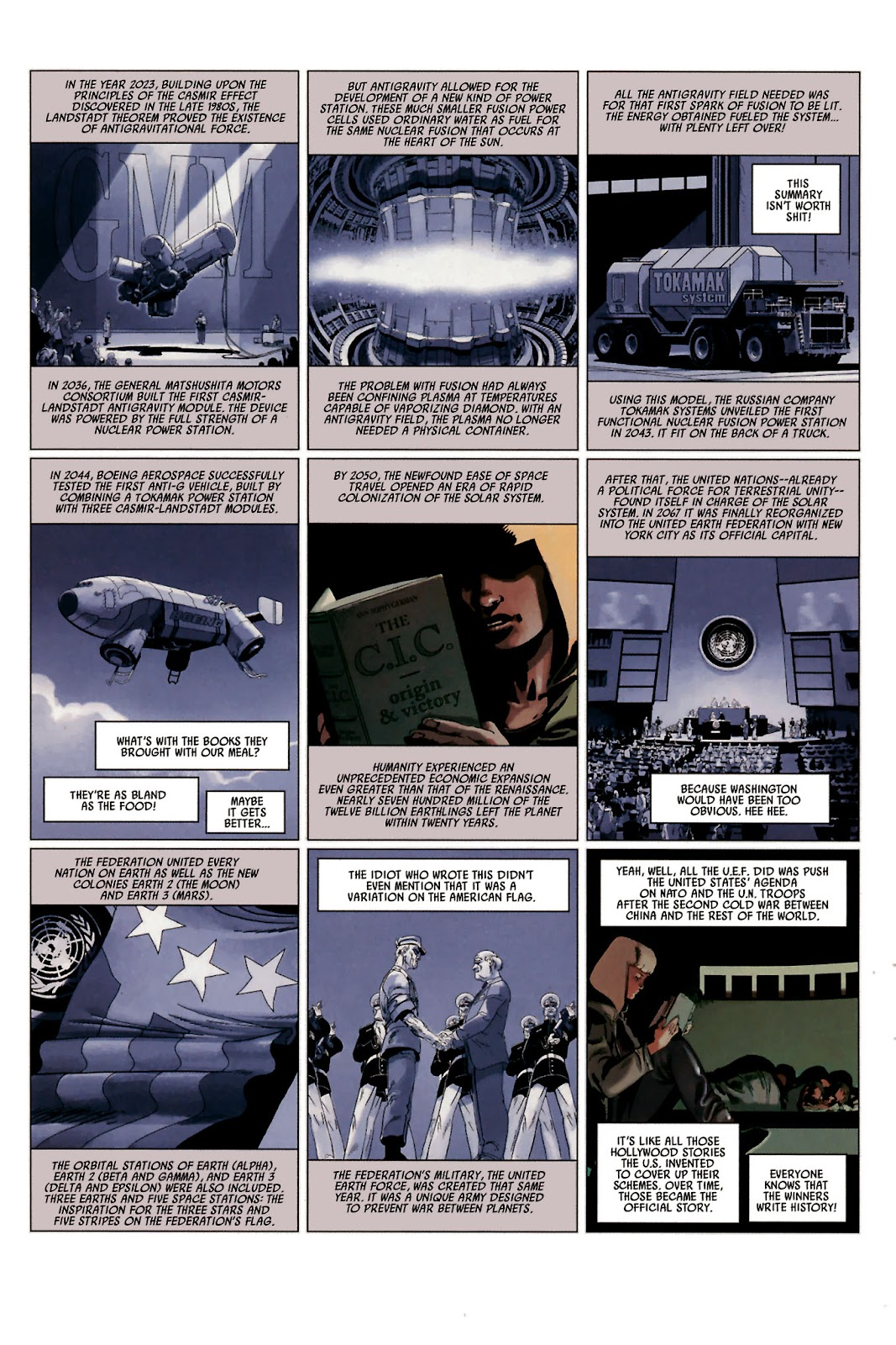 Read online Universal War One: Revelations comic -  Issue #2 - 24