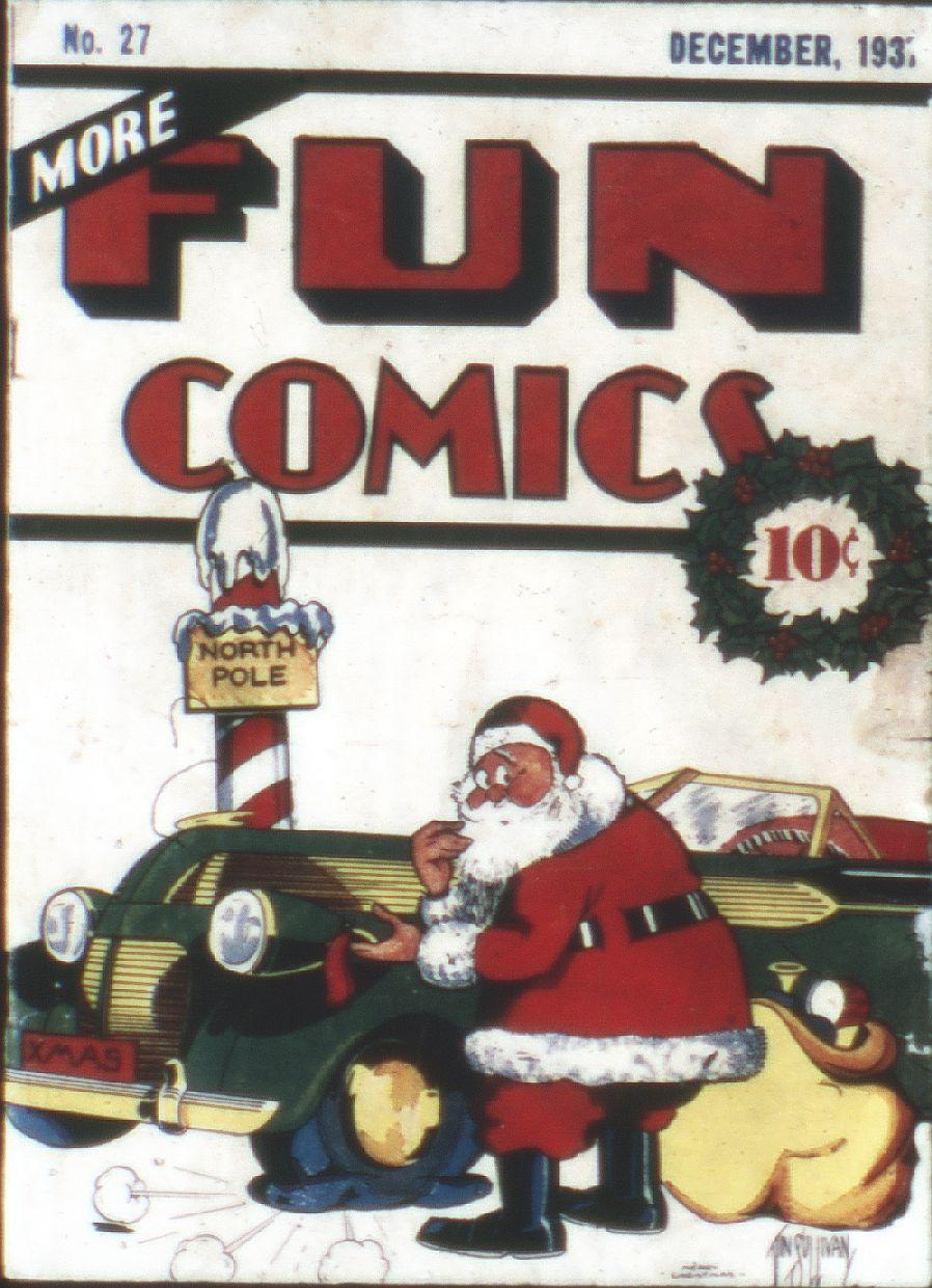 More Fun Comics 27 Page 1