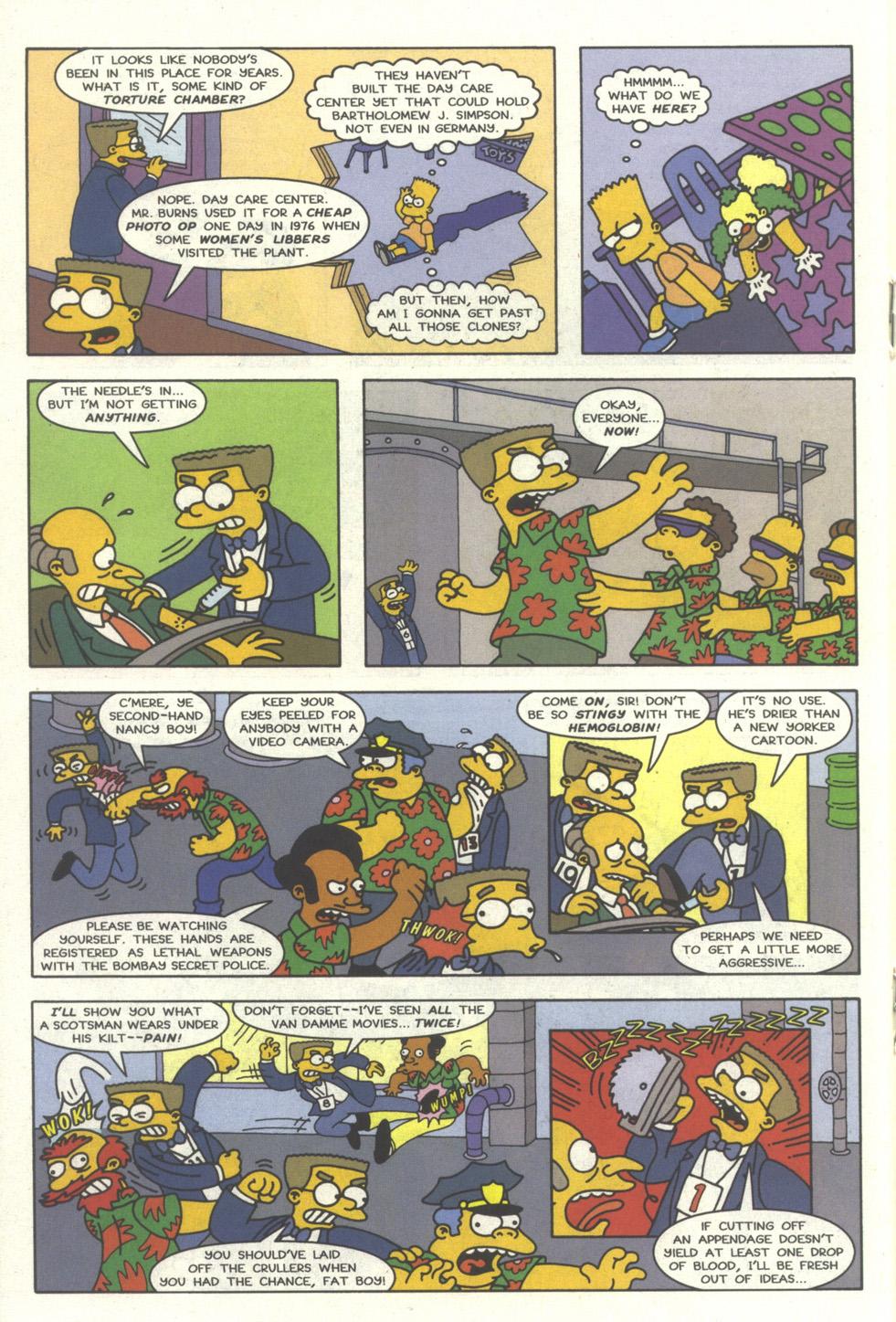 Read online Simpsons Comics comic -  Issue #30 - 17
