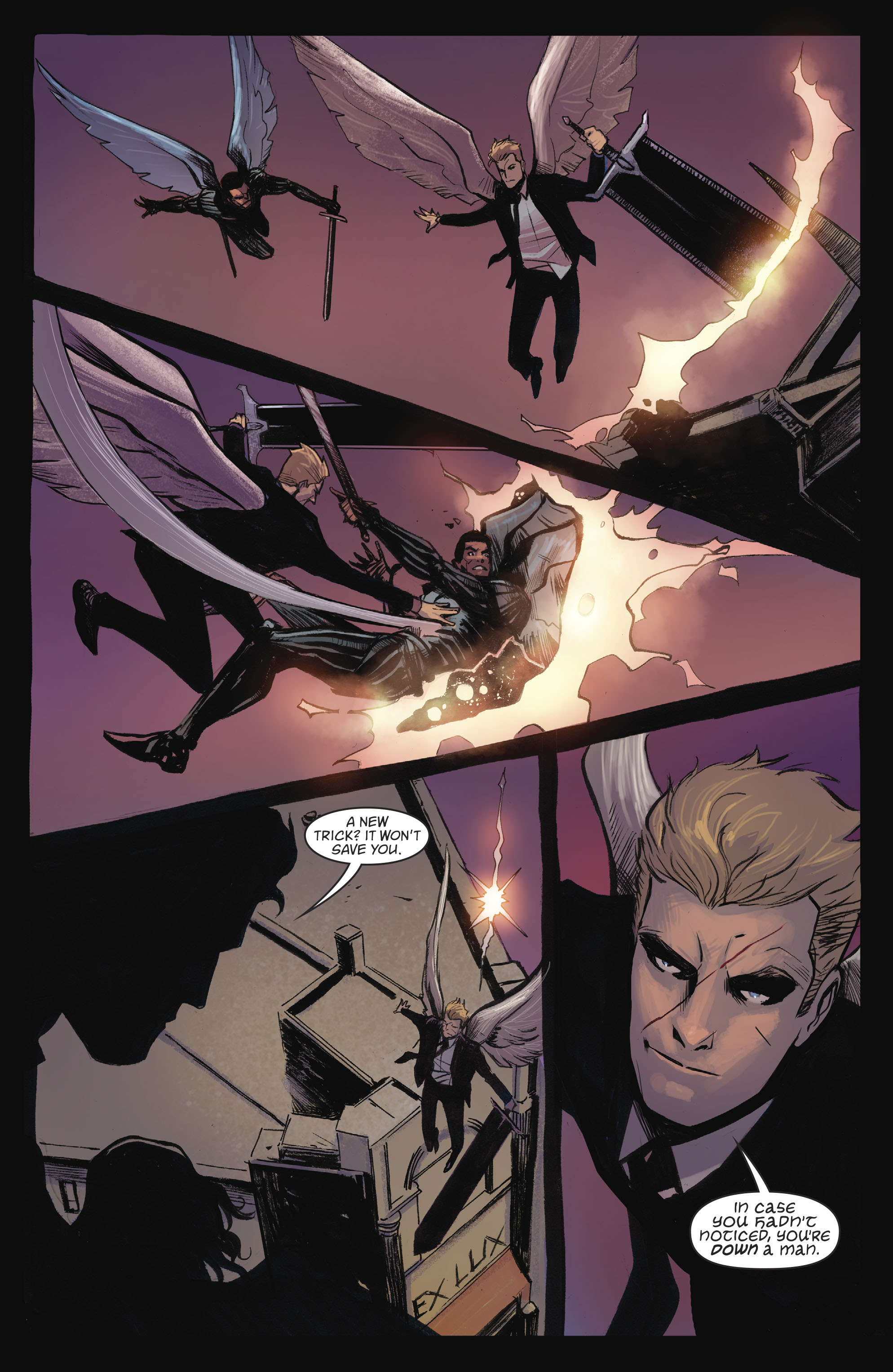 Read online Lucifer (2016) comic -  Issue #18 - 4