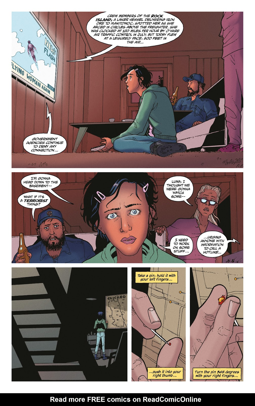 Read online She Could Fly comic -  Issue # _TPB - 17