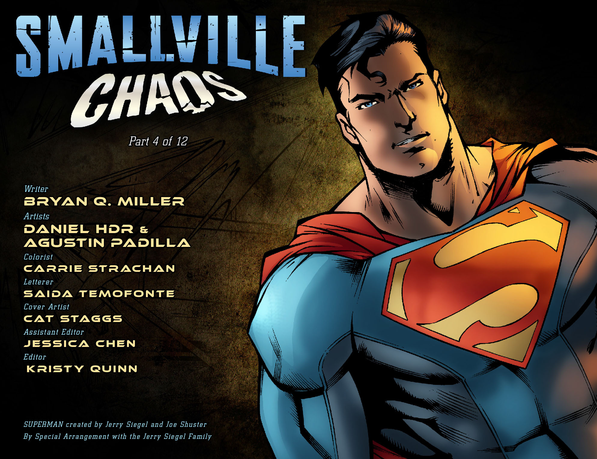 Read online Smallville: Chaos [II] comic -  Issue #4 - 2