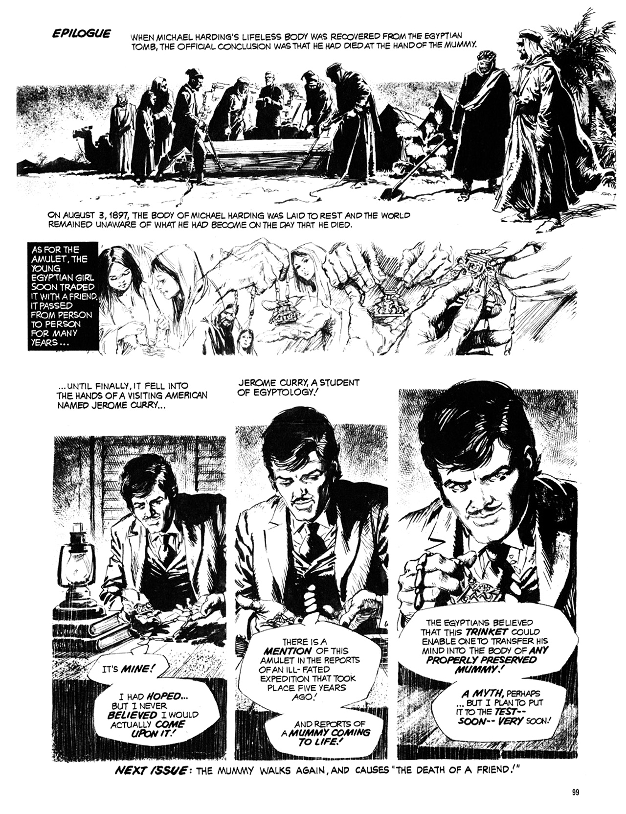 Read online Eerie Archives comic -  Issue # TPB 10 - 100