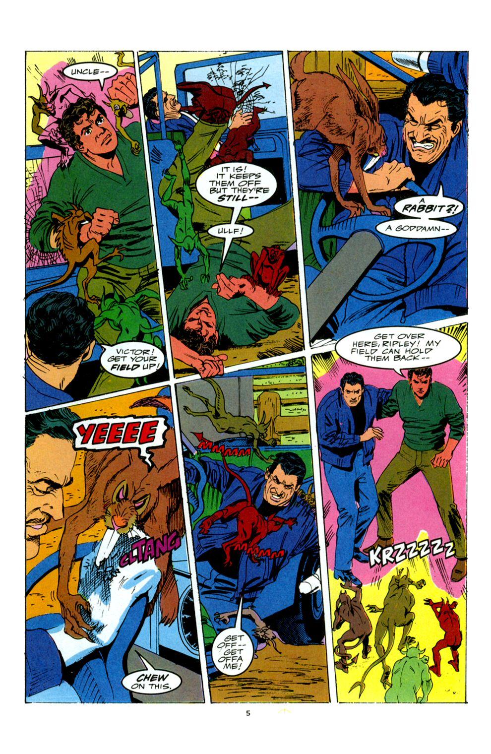 Read online Powerline comic -  Issue #6 - 7