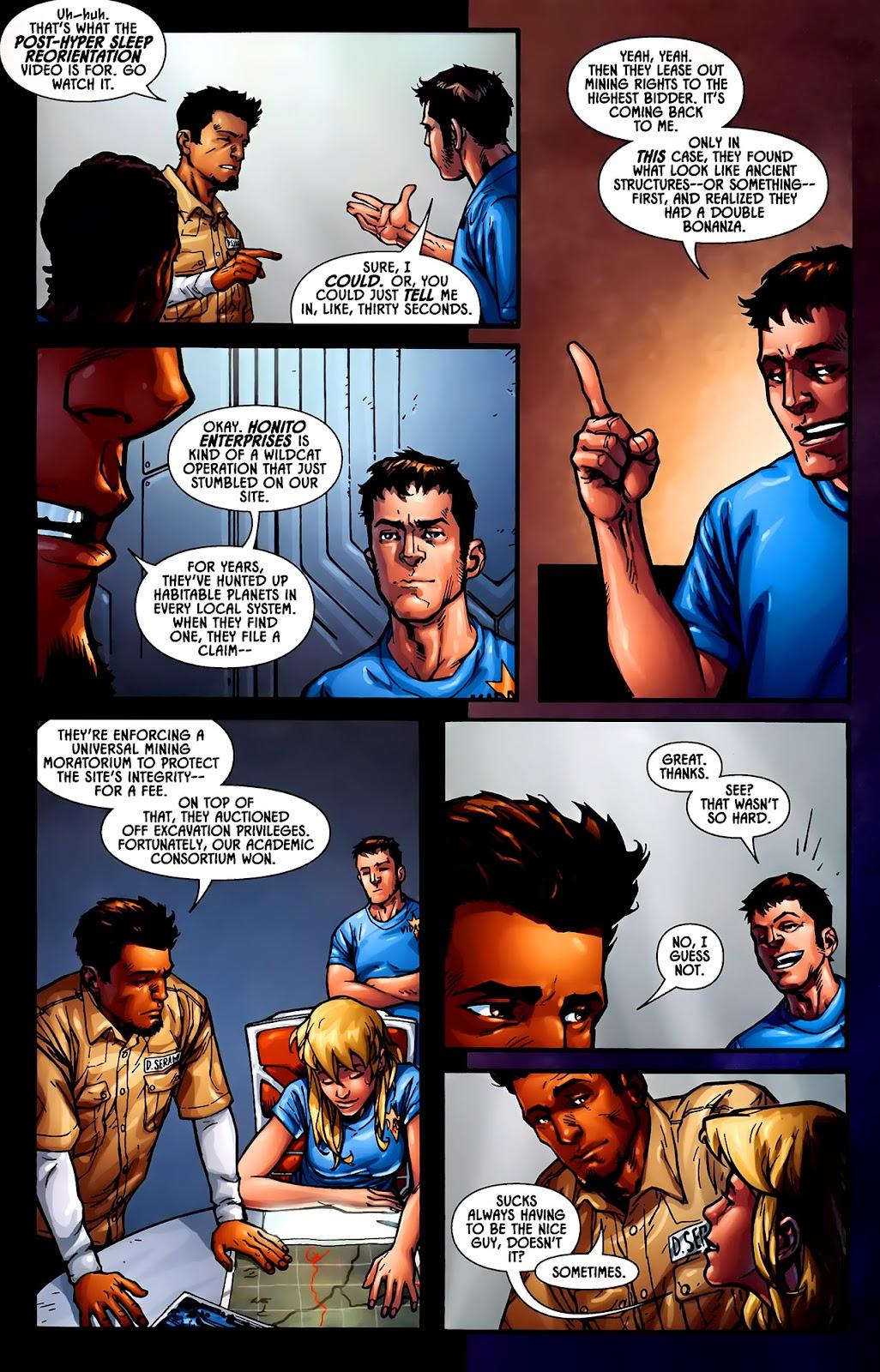 Read online Aliens (2009) comic -  Issue #1 - 12