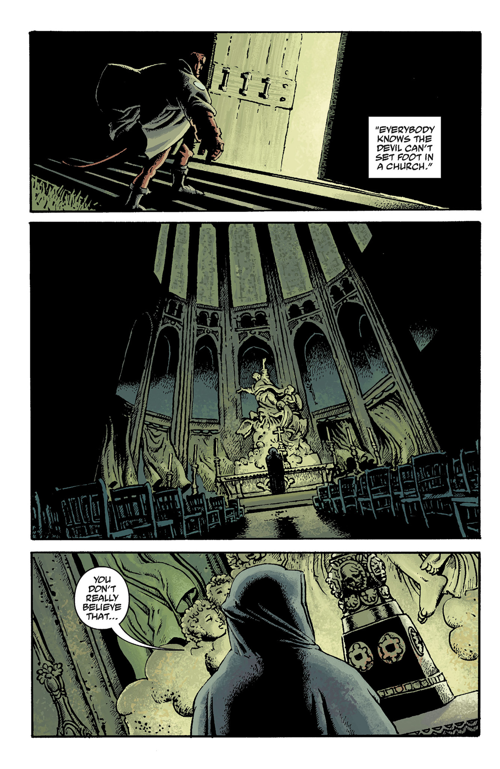 Read online Hellboy: The Crooked Man and Others comic -  Issue # TPB - 46