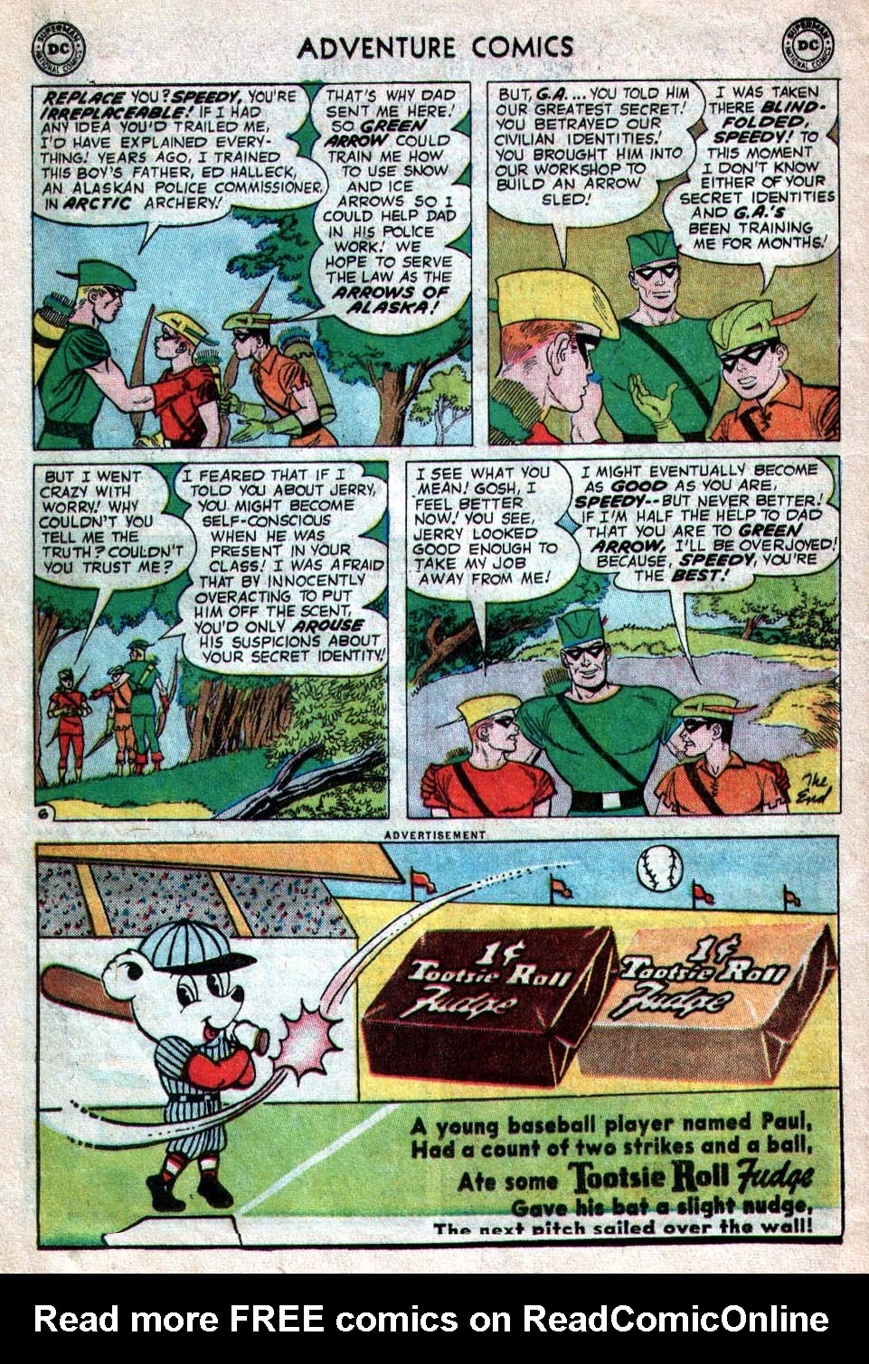 Read online Adventure Comics (1938) comic -  Issue #260 - 32