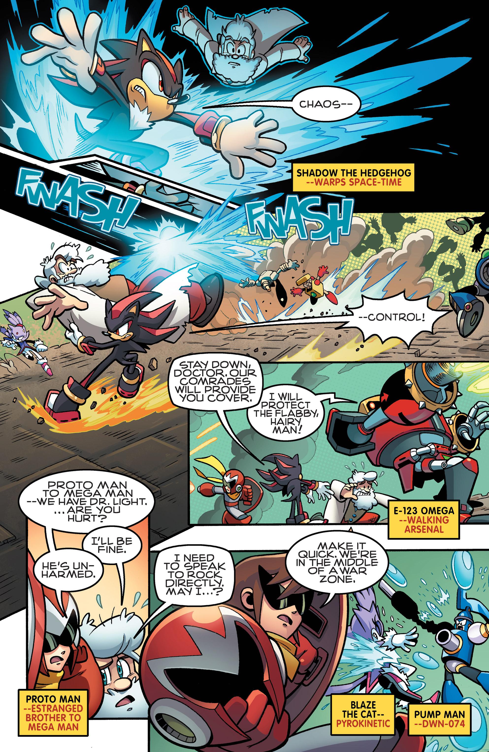 Read online Sonic Mega Man Worlds Collide comic -  Issue # Vol 3 - 52