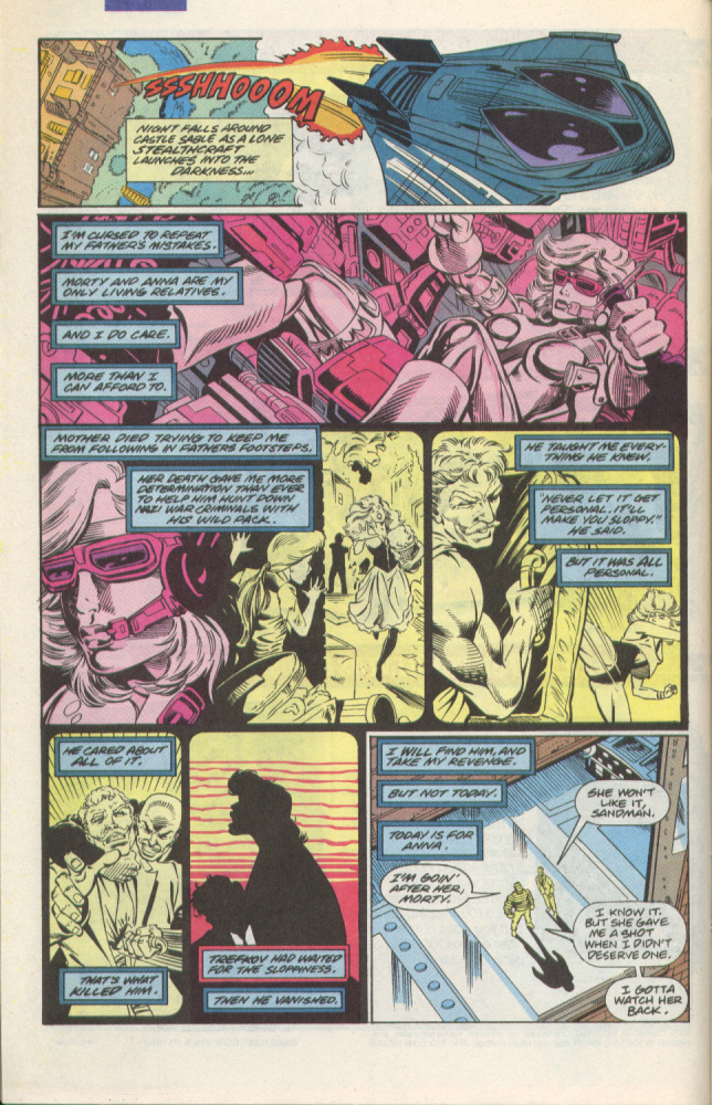 Read online Silver Sable and the Wild Pack comic -  Issue #1 - 9